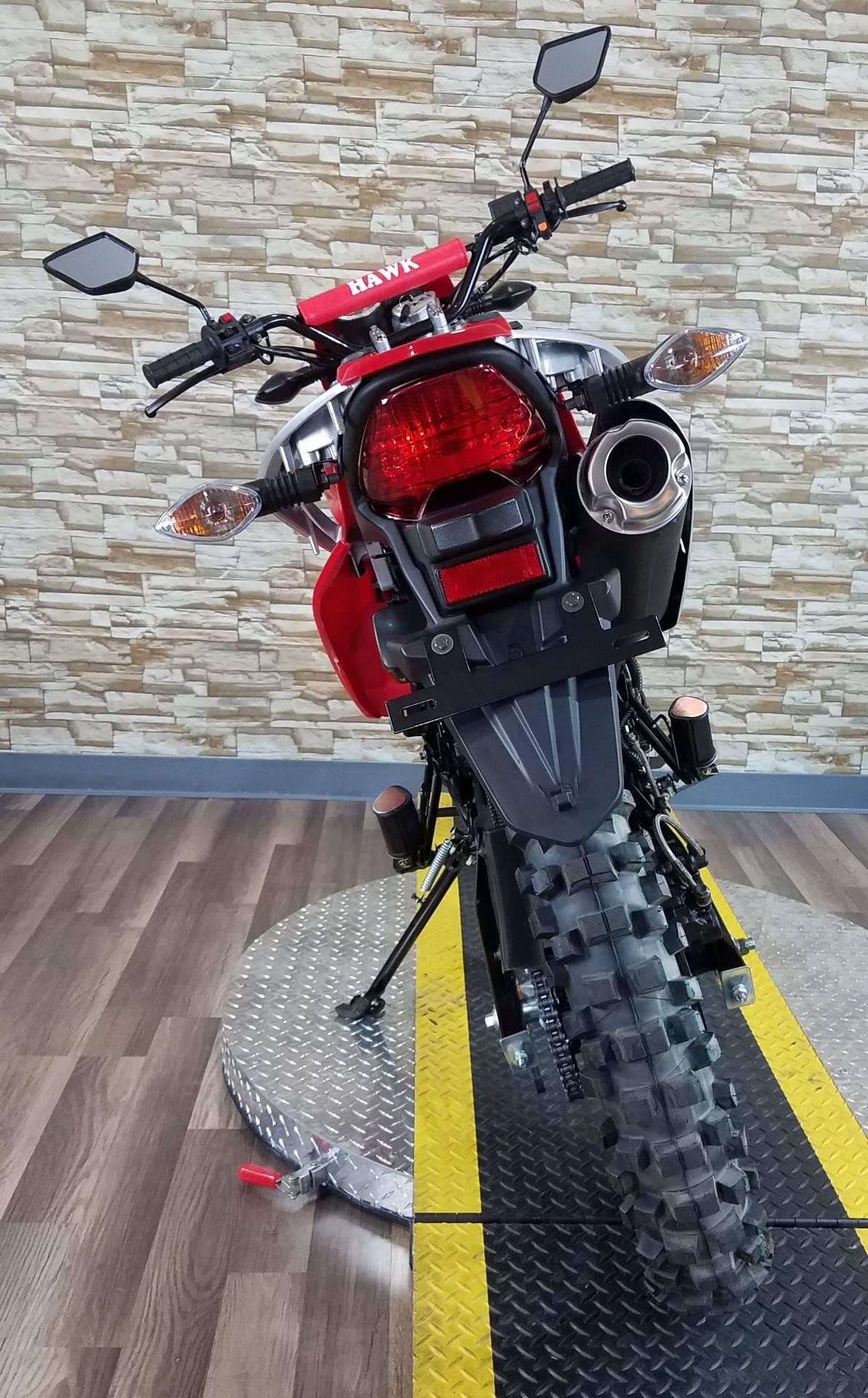 2017  Hawk 250 Red 3
