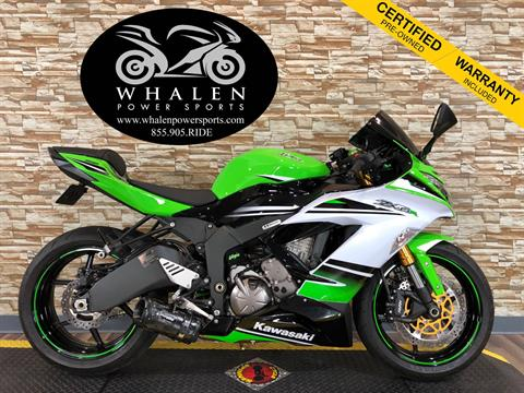 2015 Kawasaki Ninja® ZX™-6R ABS 30th Anniversary in Port Charlotte, Florida