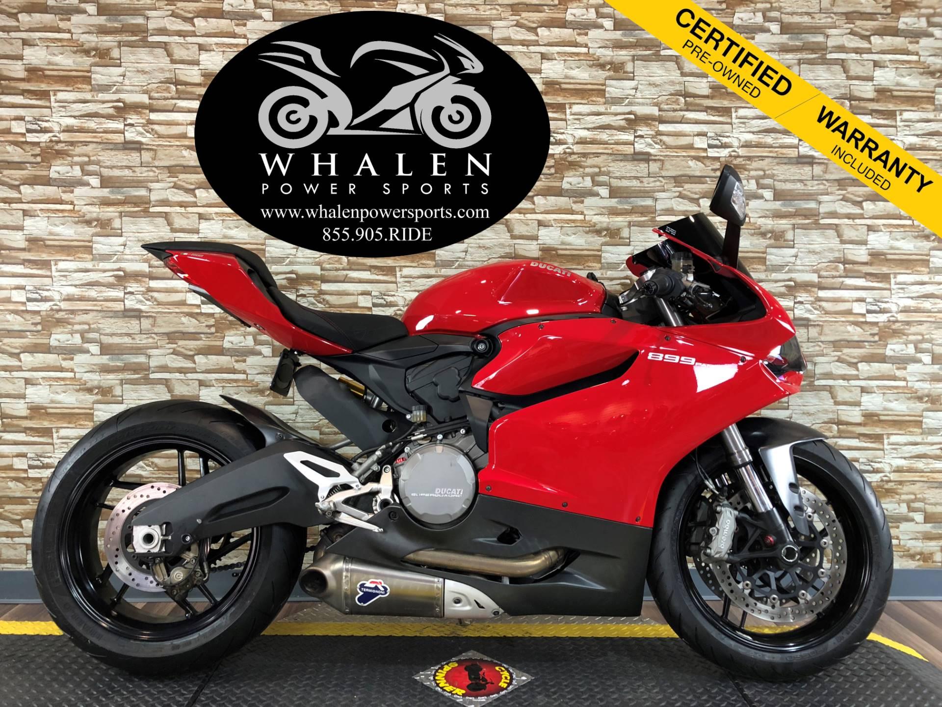 2014 Ducati Superbike 899 Panigale 1