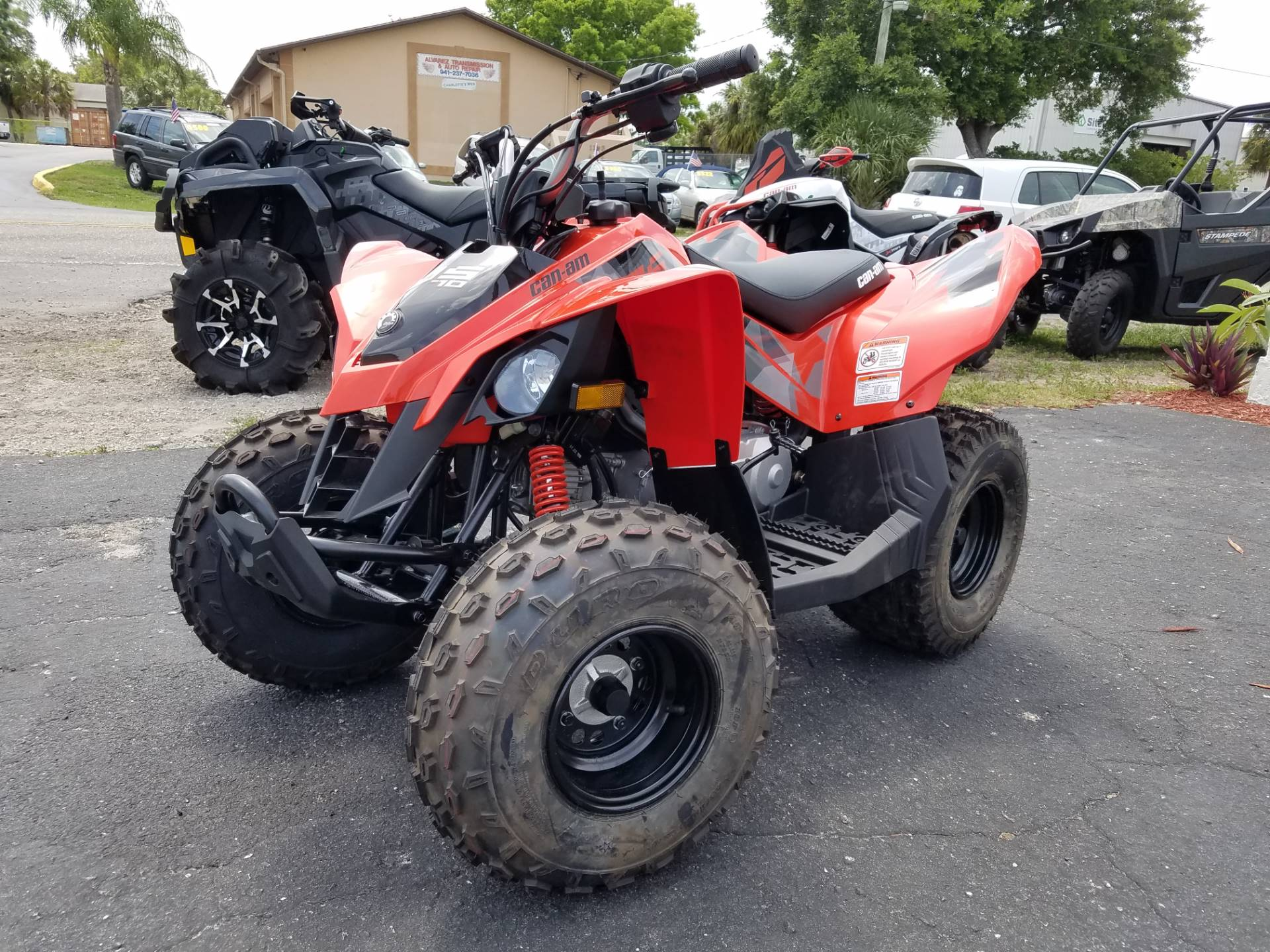 2017 Can-Am DS 70 in Port Charlotte, Florida