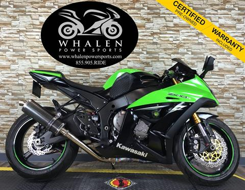 2014 Kawasaki Ninja® ZX™-10R ABS in Port Charlotte, Florida