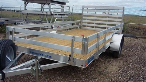 2017 Alcom Trailer MU6.5X14 W-R in Great Falls, Montana