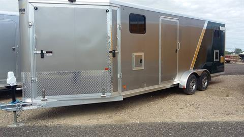 2017 Alcom Trailer MES 7X22 LM in Great Falls, Montana