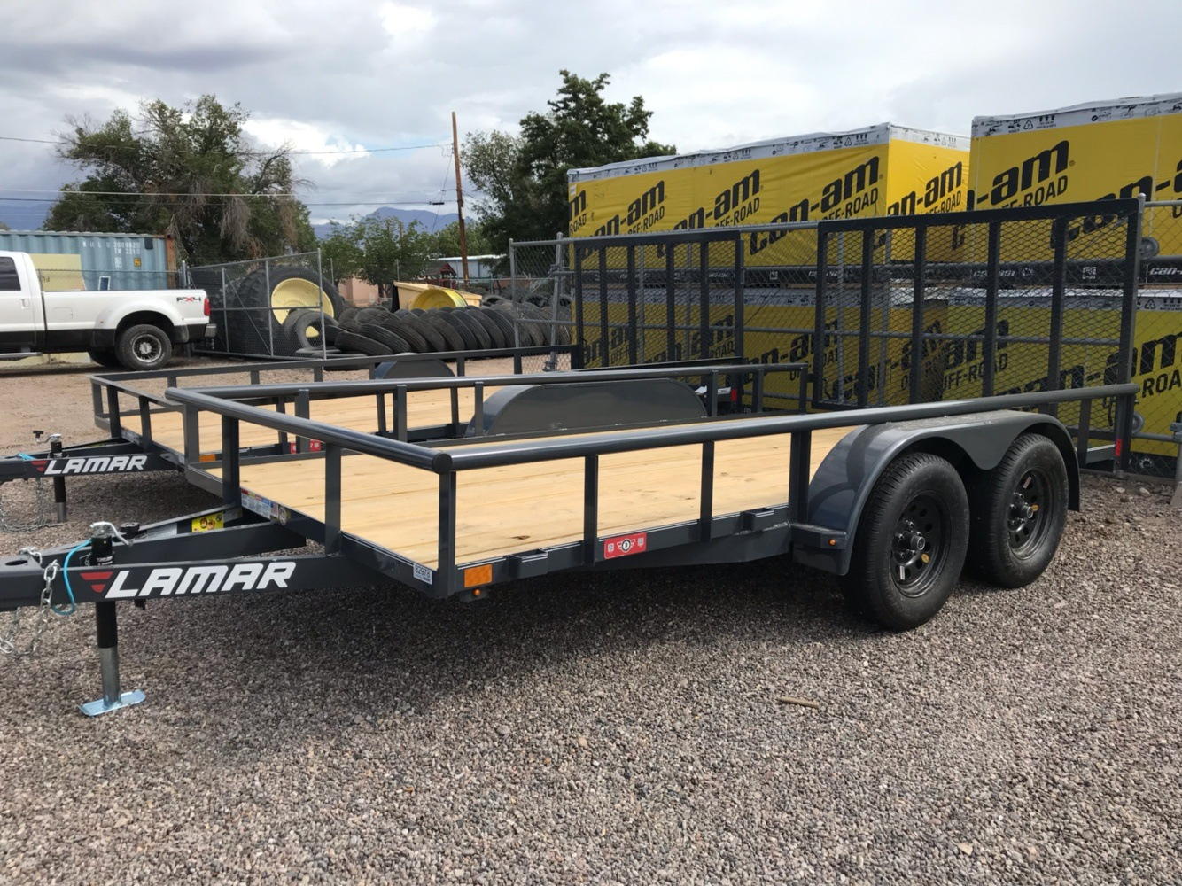 "2020 LAMAR Trailers Inc 83""x14ft Tandem Axle in Safford, Arizona"