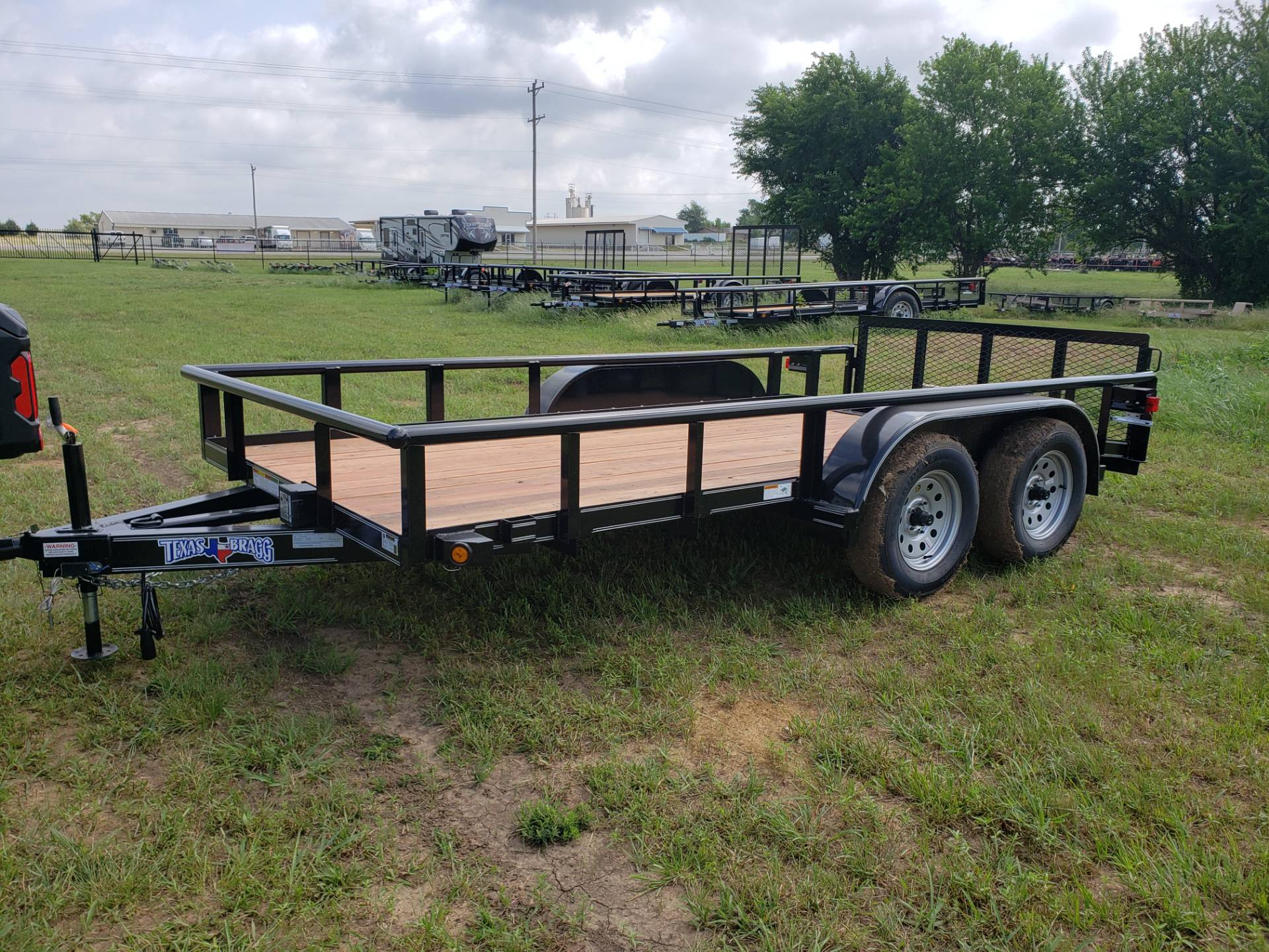 2019 Texas Bragg 14' Tandem Axle in Durant, Oklahoma - Photo 1