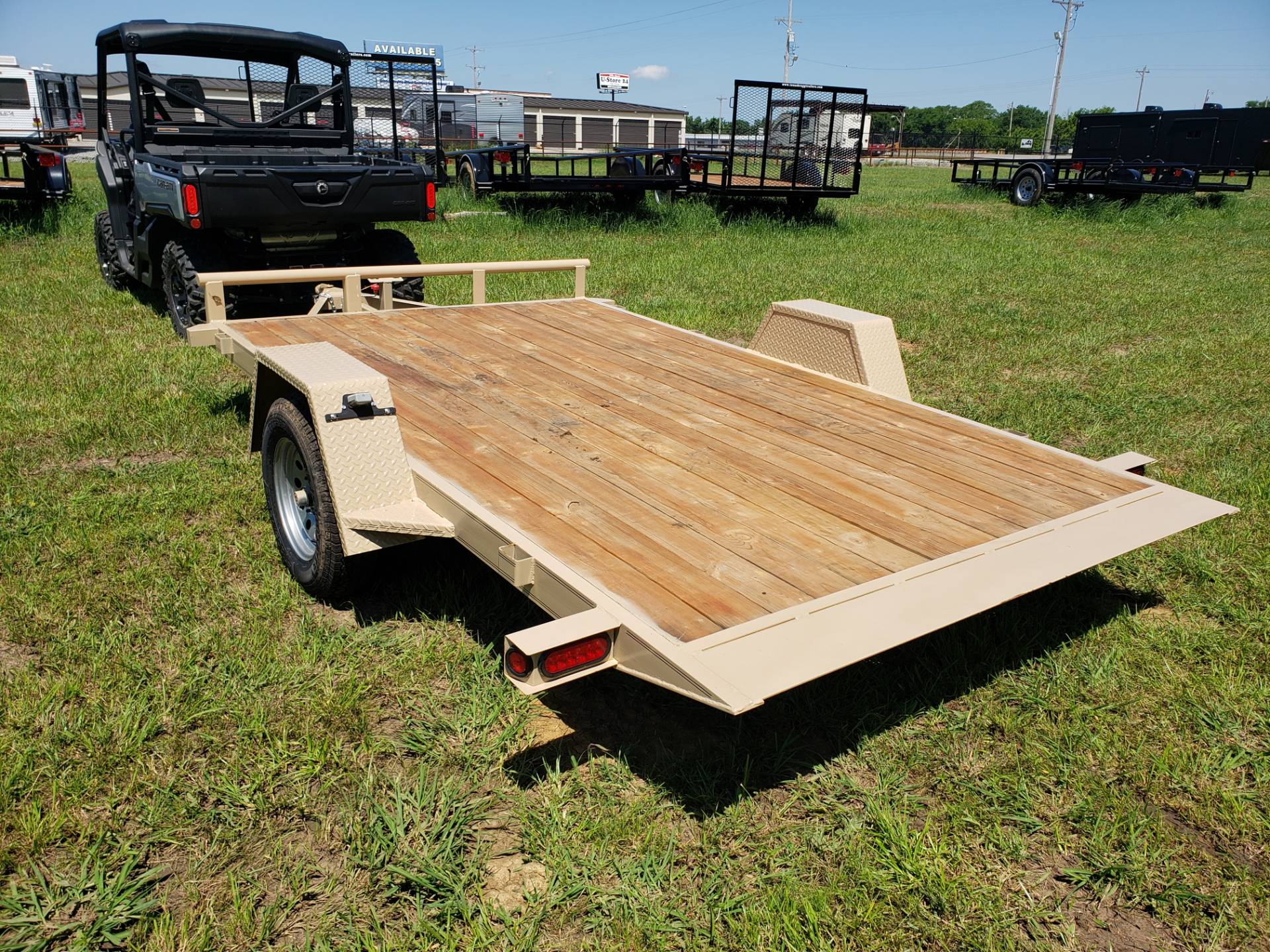 2019 Texas Bragg tilt flatbed in Durant, Oklahoma - Photo 4
