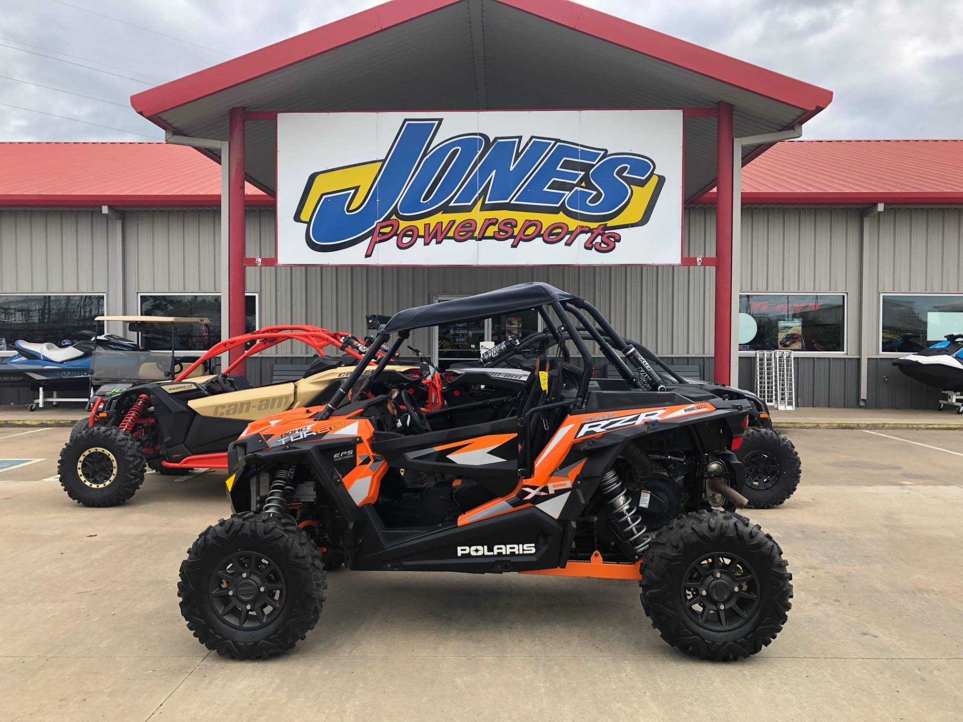 2016 Polaris RZR XP  Turbo EPS in Durant, Oklahoma - Photo 1