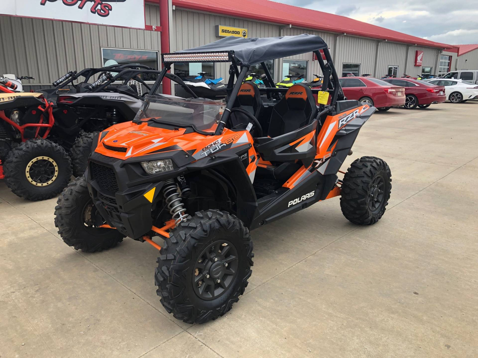 2016 Polaris RZR XP  Turbo EPS in Durant, Oklahoma - Photo 2