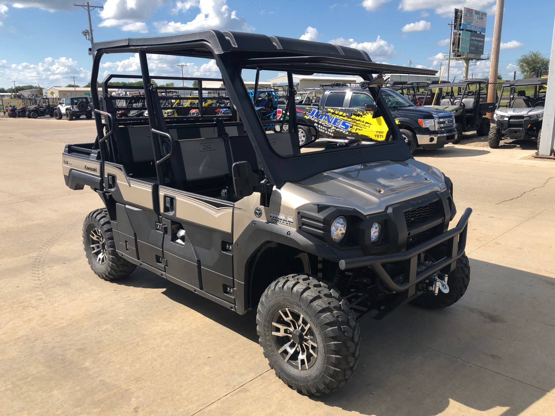 2018 Kawasaki Mule PRO-FXT RANCH EDITION 5