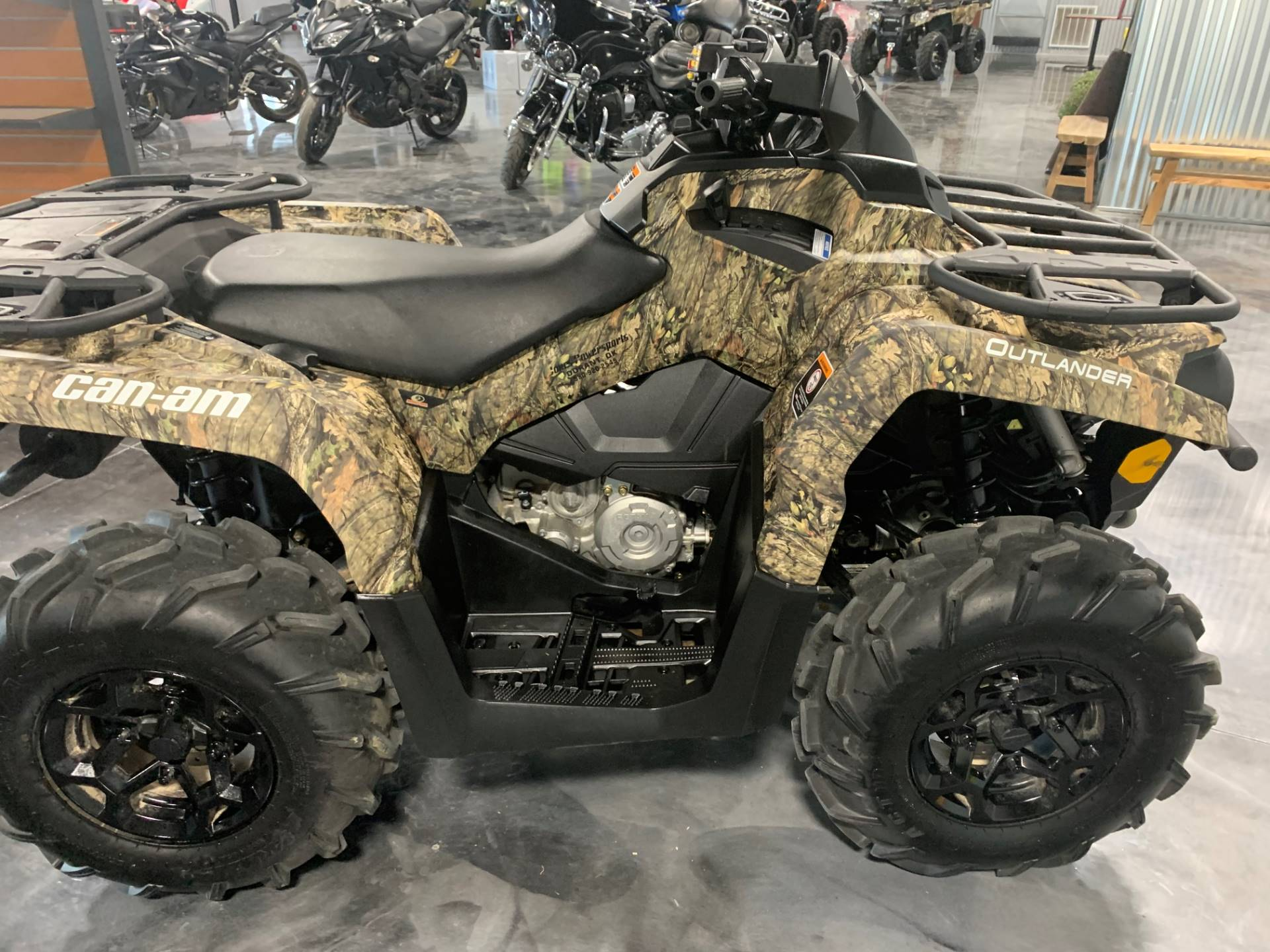 2018 Can-Am Outlander Mossy Oak Hunting Edition 450 in Durant, Oklahoma - Photo 3