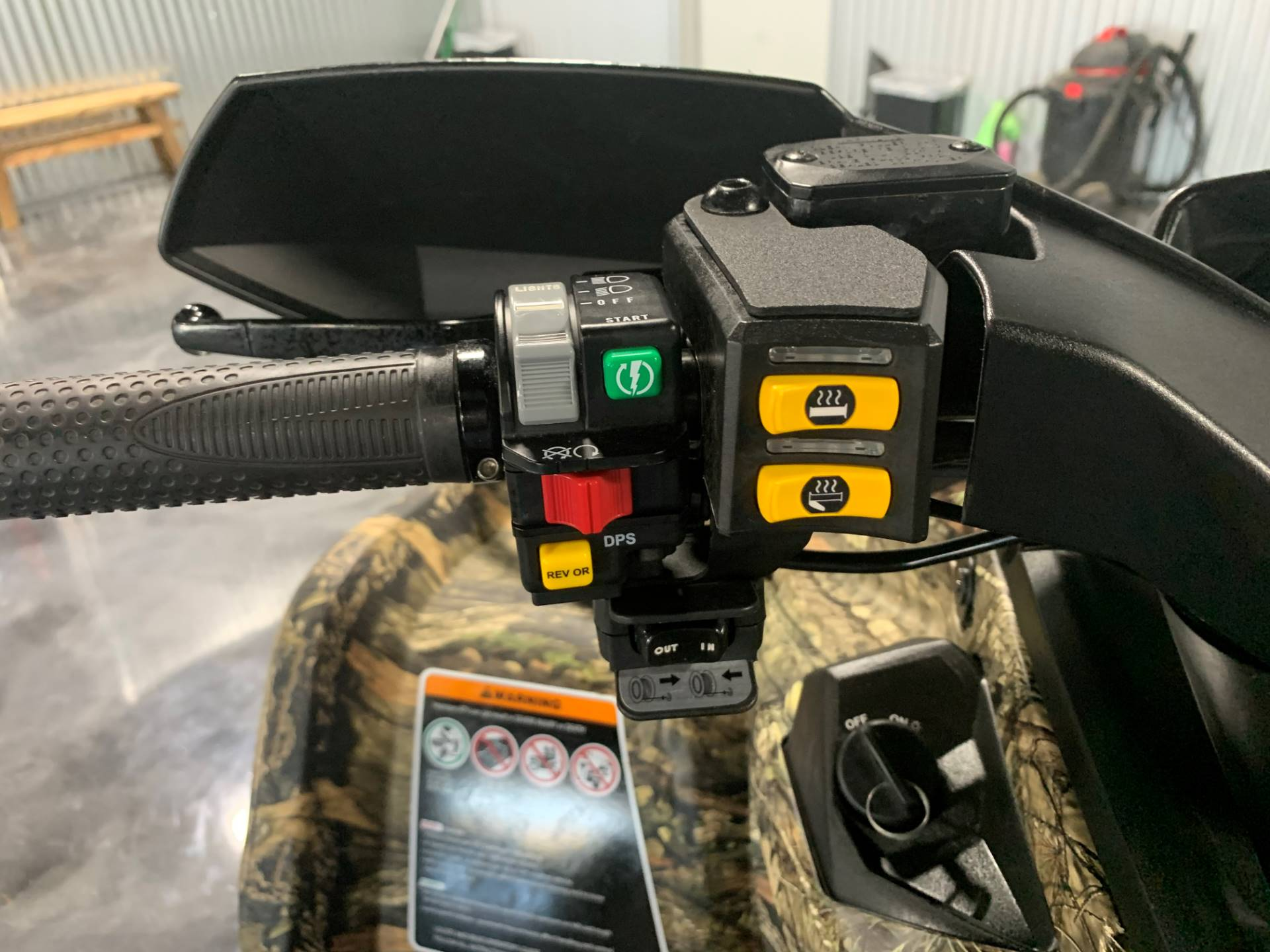 2018 Can-Am Outlander Mossy Oak Hunting Edition 450 in Durant, Oklahoma - Photo 4