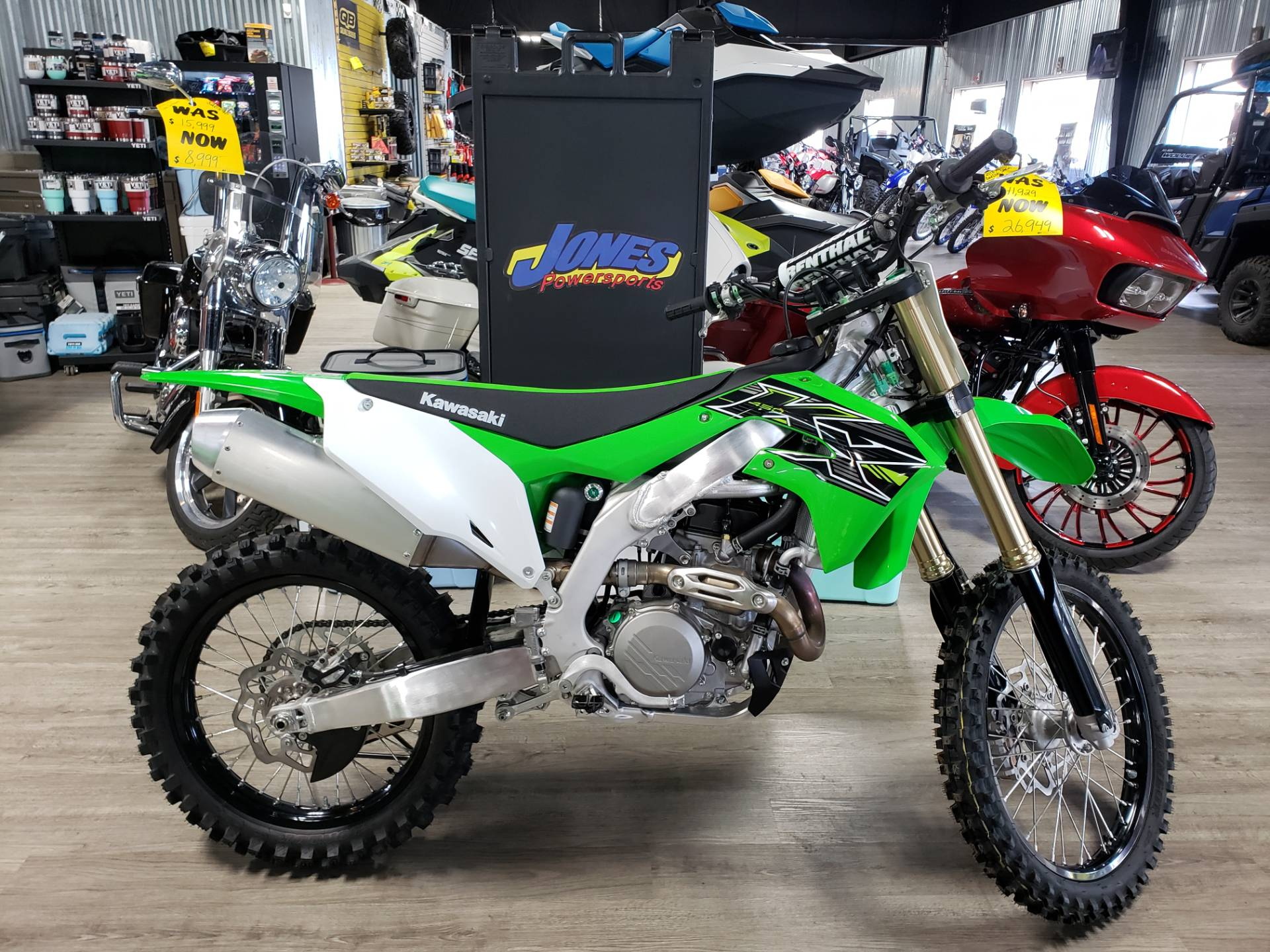 2019 Kawasaki KX 450 in Durant, Oklahoma - Photo 1