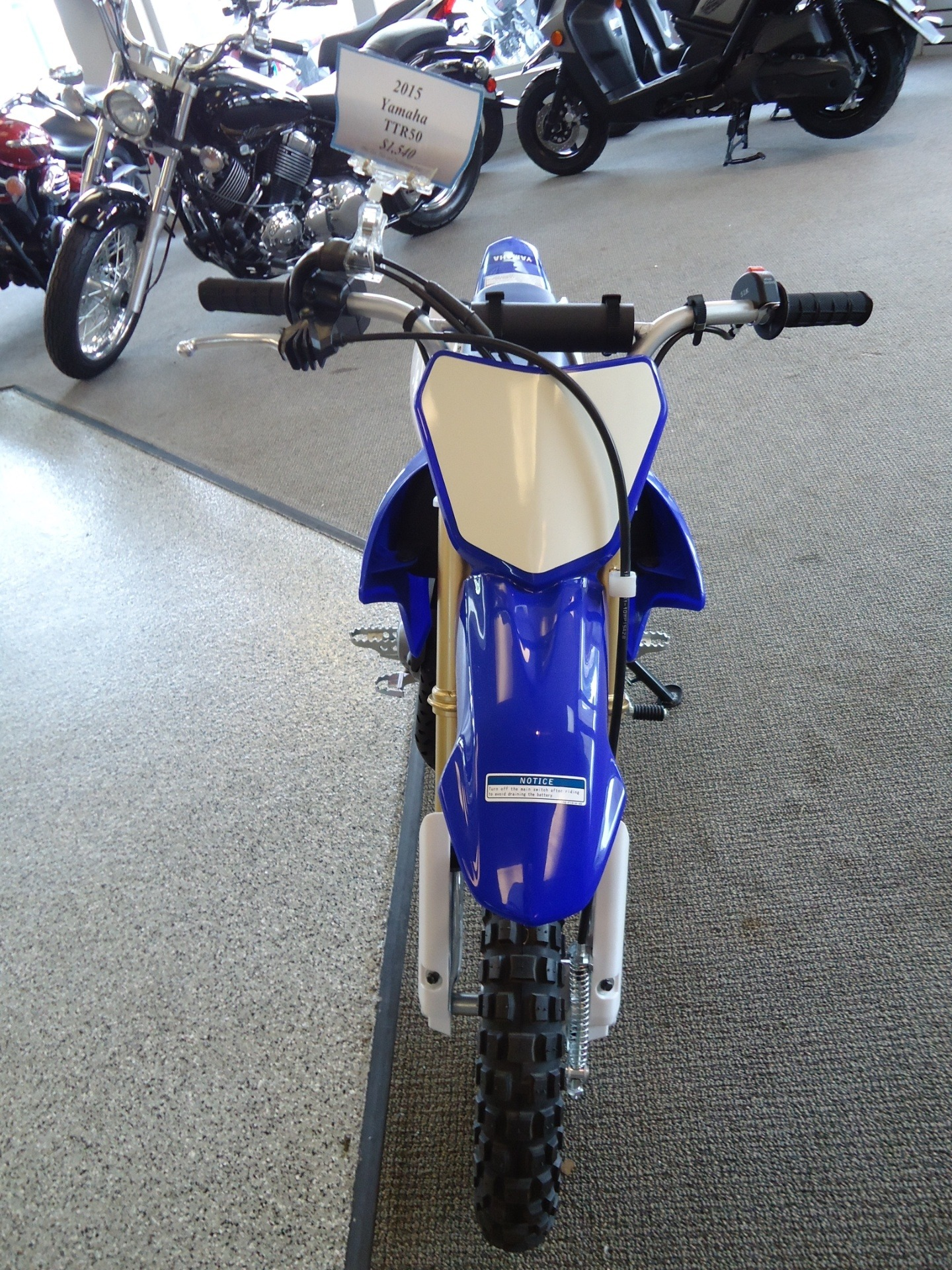 2015 Yamaha TT-R50E in Coloma, Michigan