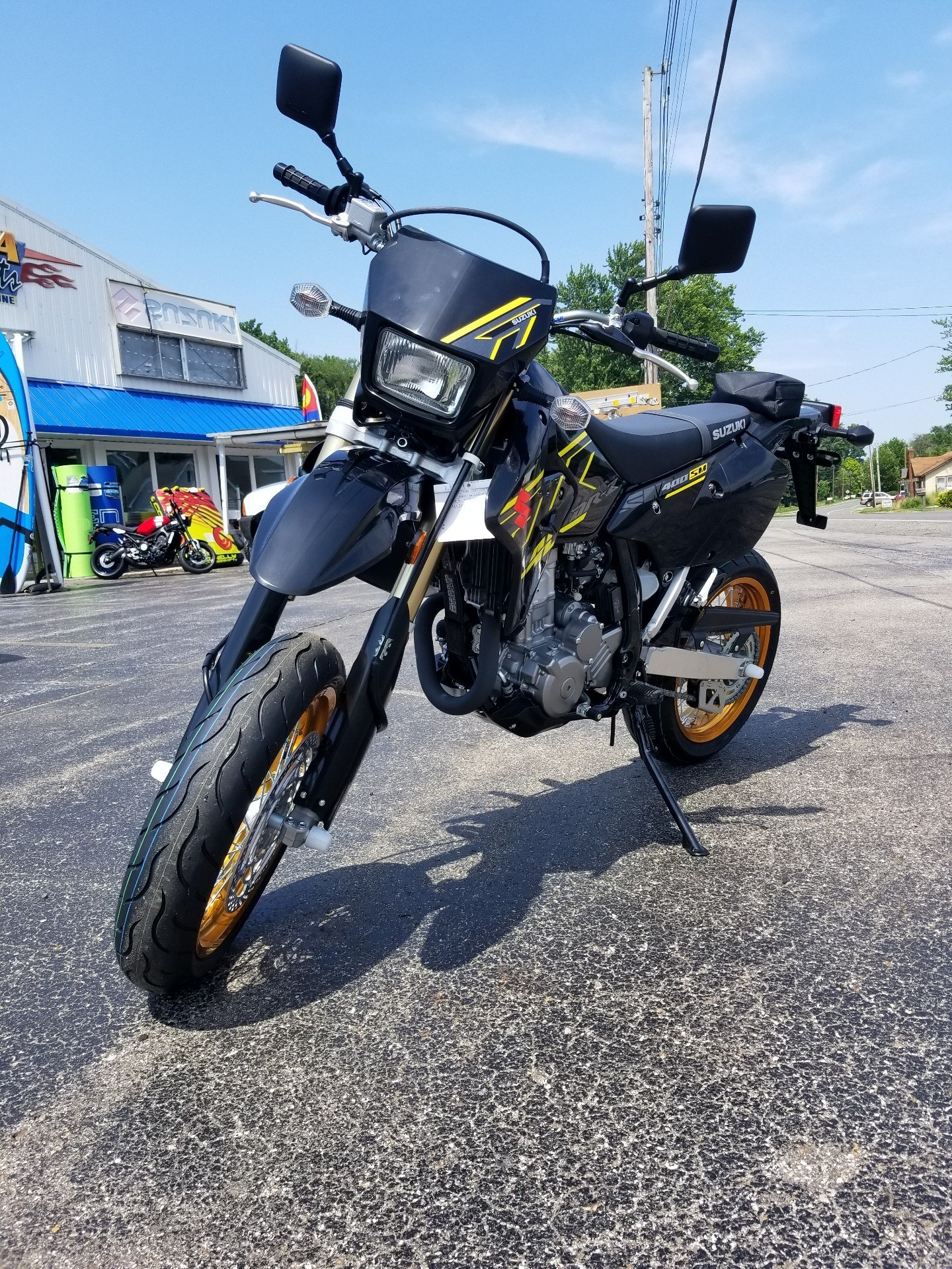 2018 Suzuki DR-Z400SM in Coloma, Michigan