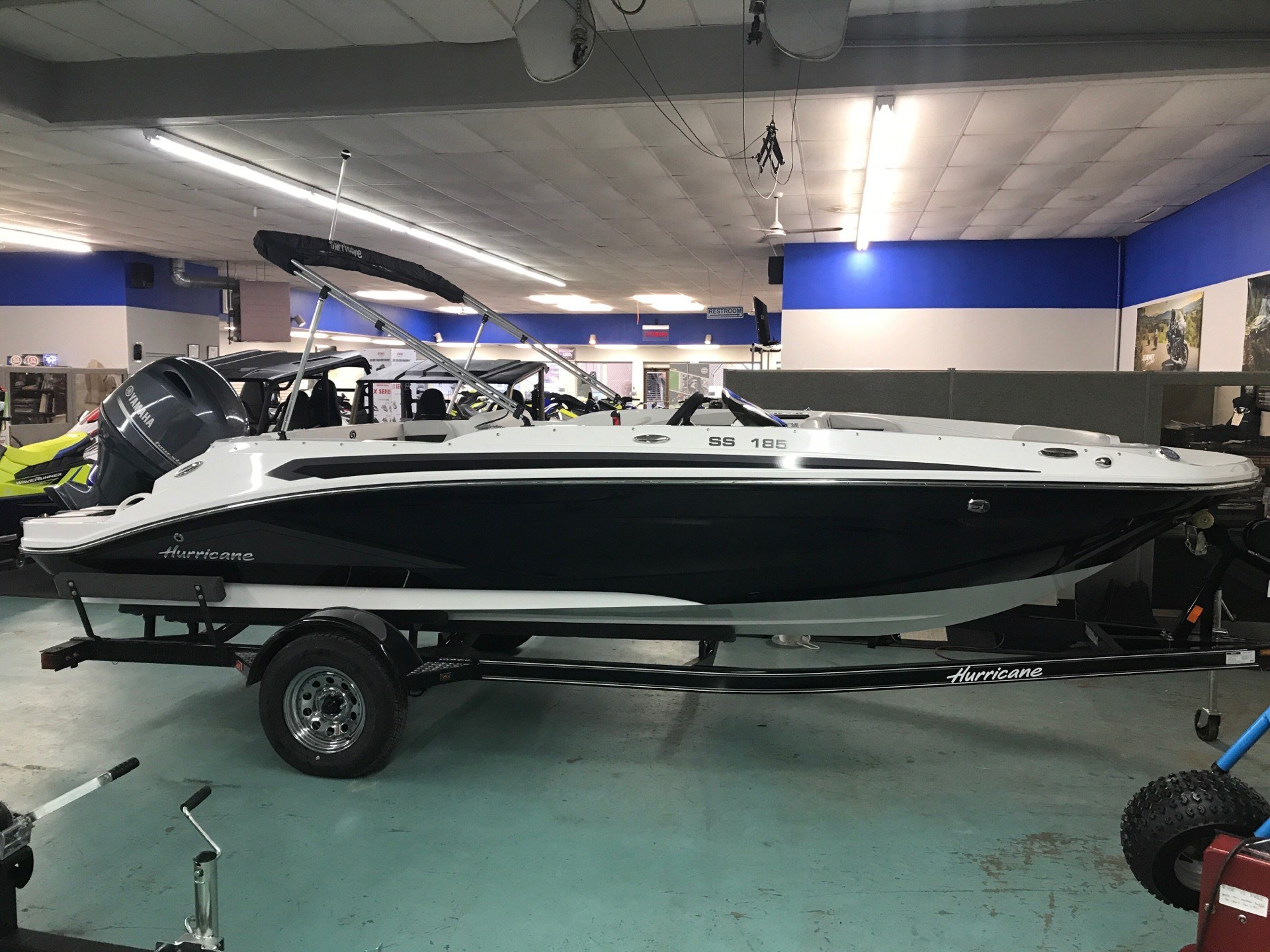 2020 Hurricane Sun Deck Sport 185 in Coloma, Michigan - Photo 1