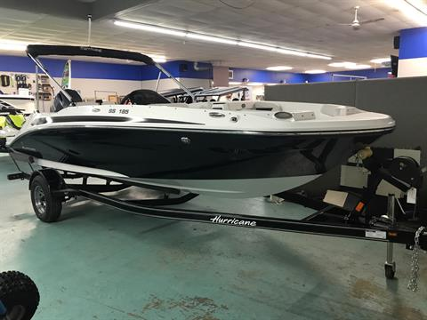 2020 Hurricane Sun Deck Sport 185 in Coloma, Michigan - Photo 2