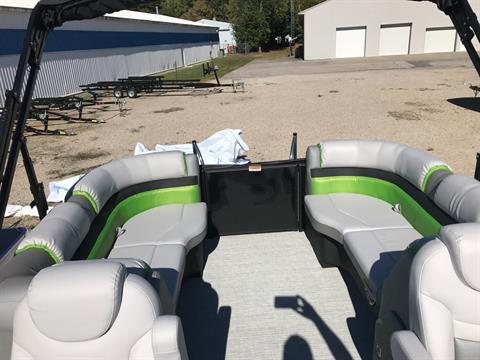 2018 Sweetwater SW2286SB TriToon in Coloma, Michigan