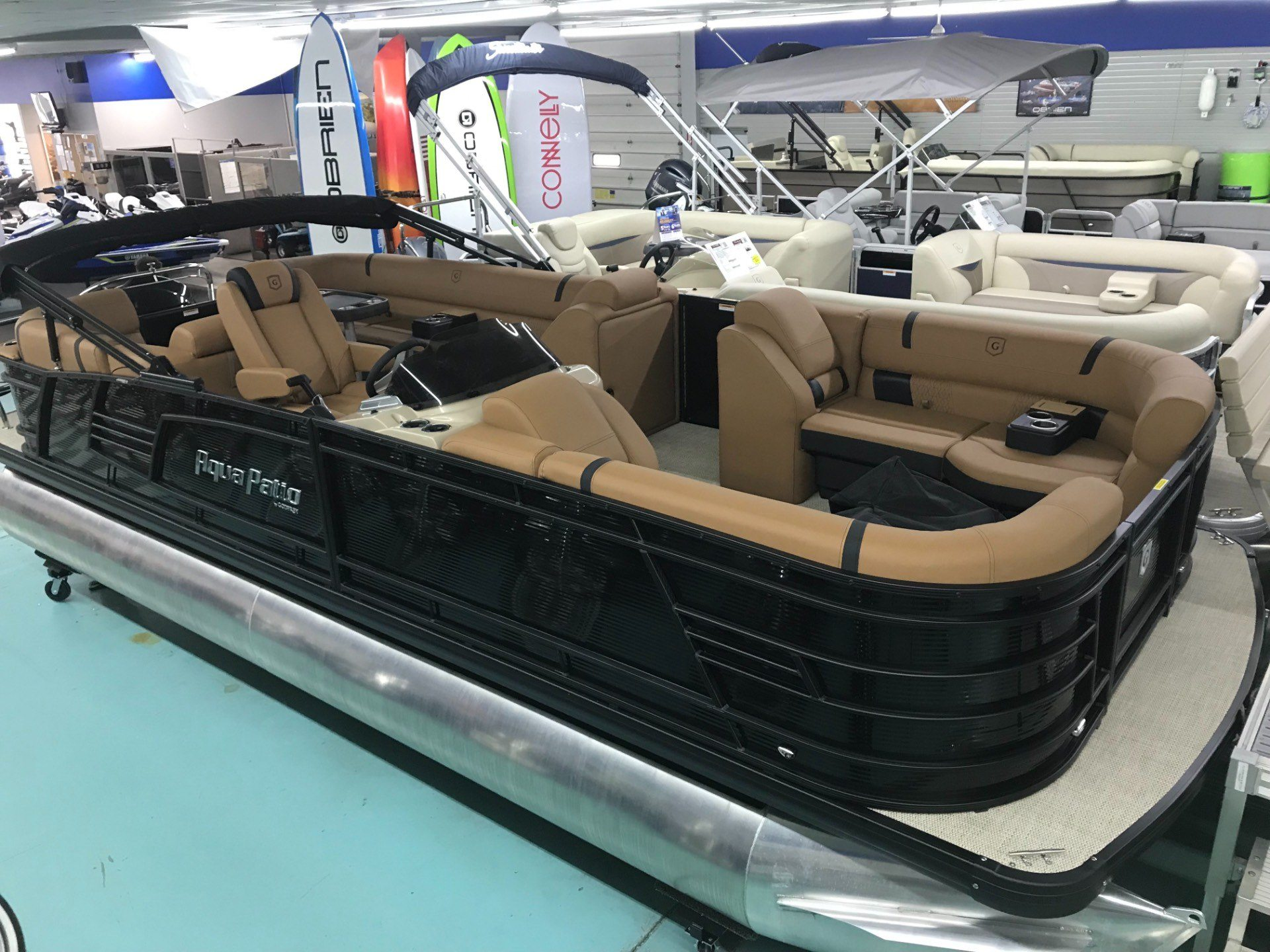 2019 Aqua Patio AP235SB TriToon in Coloma, Michigan - Photo 4