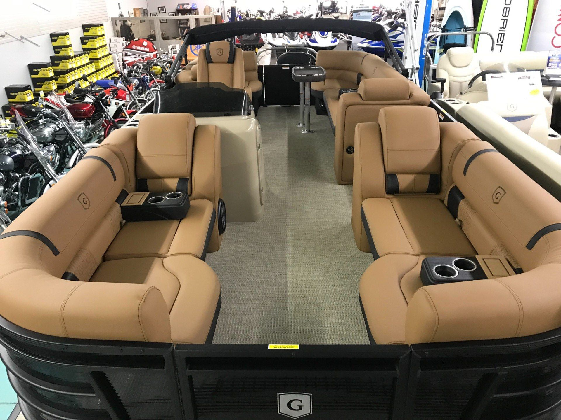 2019 Aqua Patio AP235SB TriToon in Coloma, Michigan - Photo 6