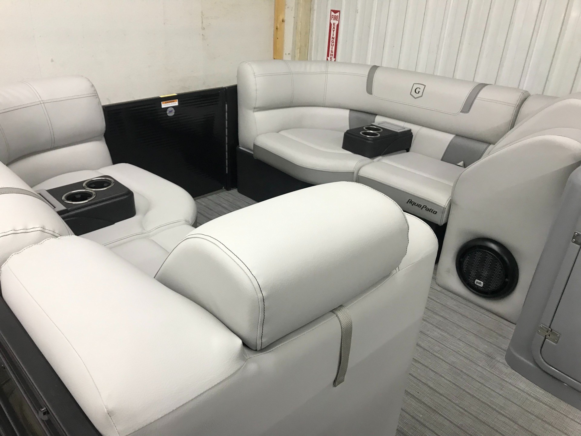 2019 Aqua Patio AP235UL TriToon in Coloma, Michigan