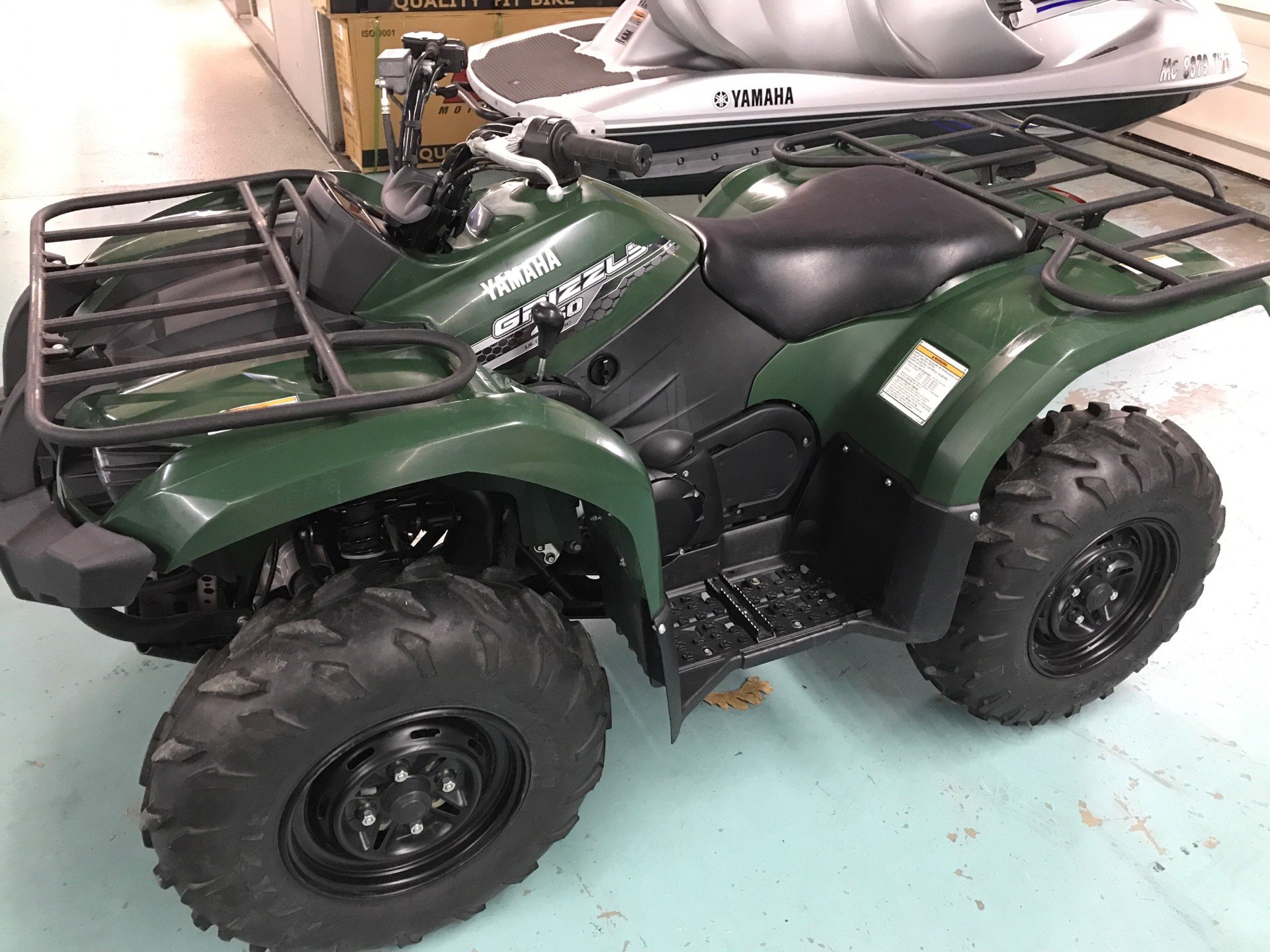 2014 Yamaha Grizzly 450 Auto. 4x4 in Coloma, Michigan - Photo 1