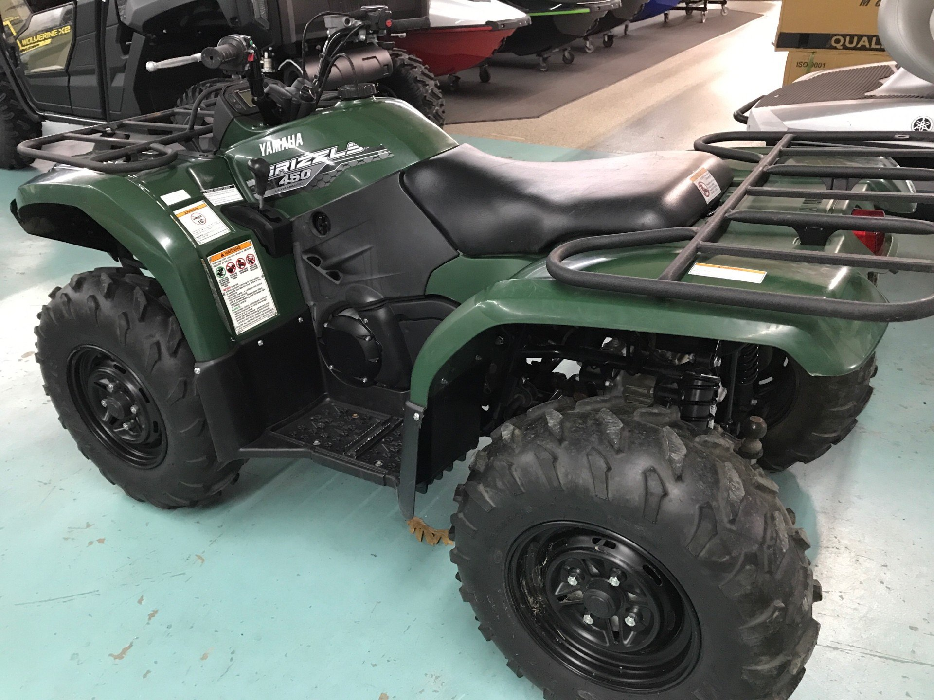 2014 Yamaha Grizzly 450 Auto. 4x4 in Coloma, Michigan - Photo 3