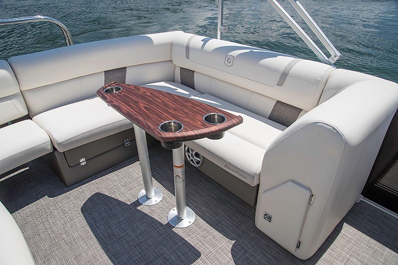 2018 Aqua Patio AP235UL TriToon in Coloma, Michigan