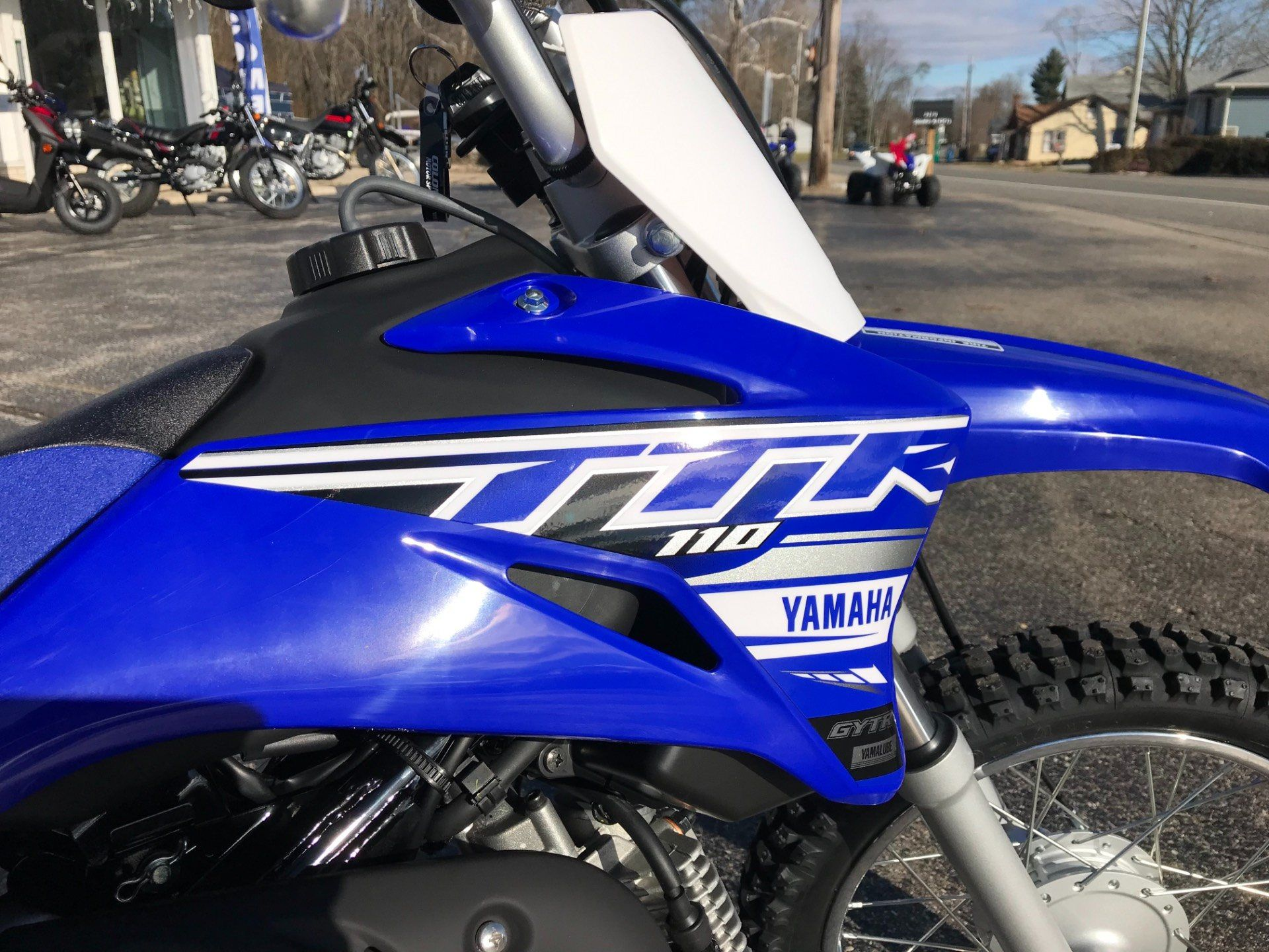 2019 Yamaha TT-R110E in Coloma, Michigan