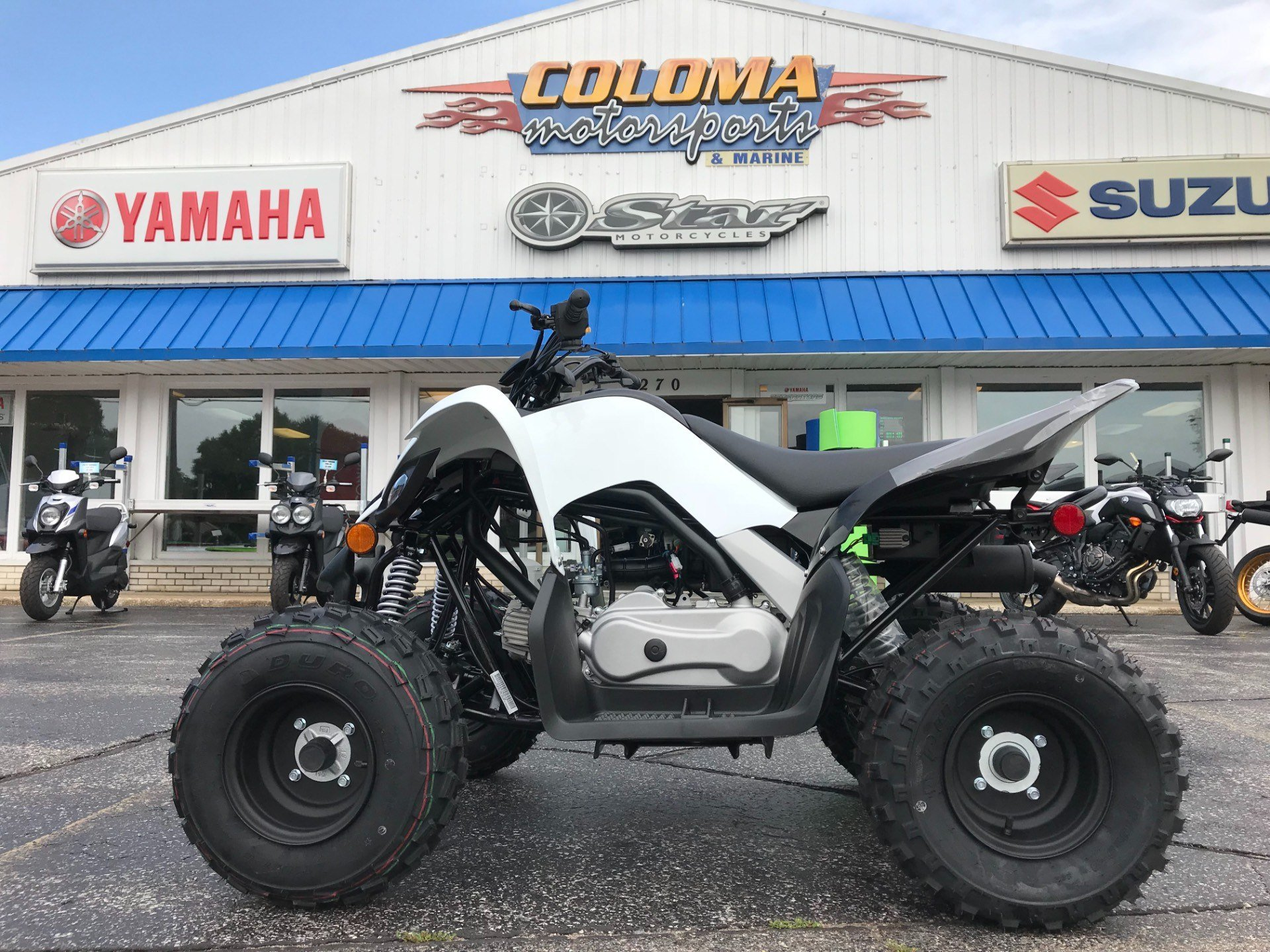 2019 Yamaha Raptor 90 in Coloma, Michigan