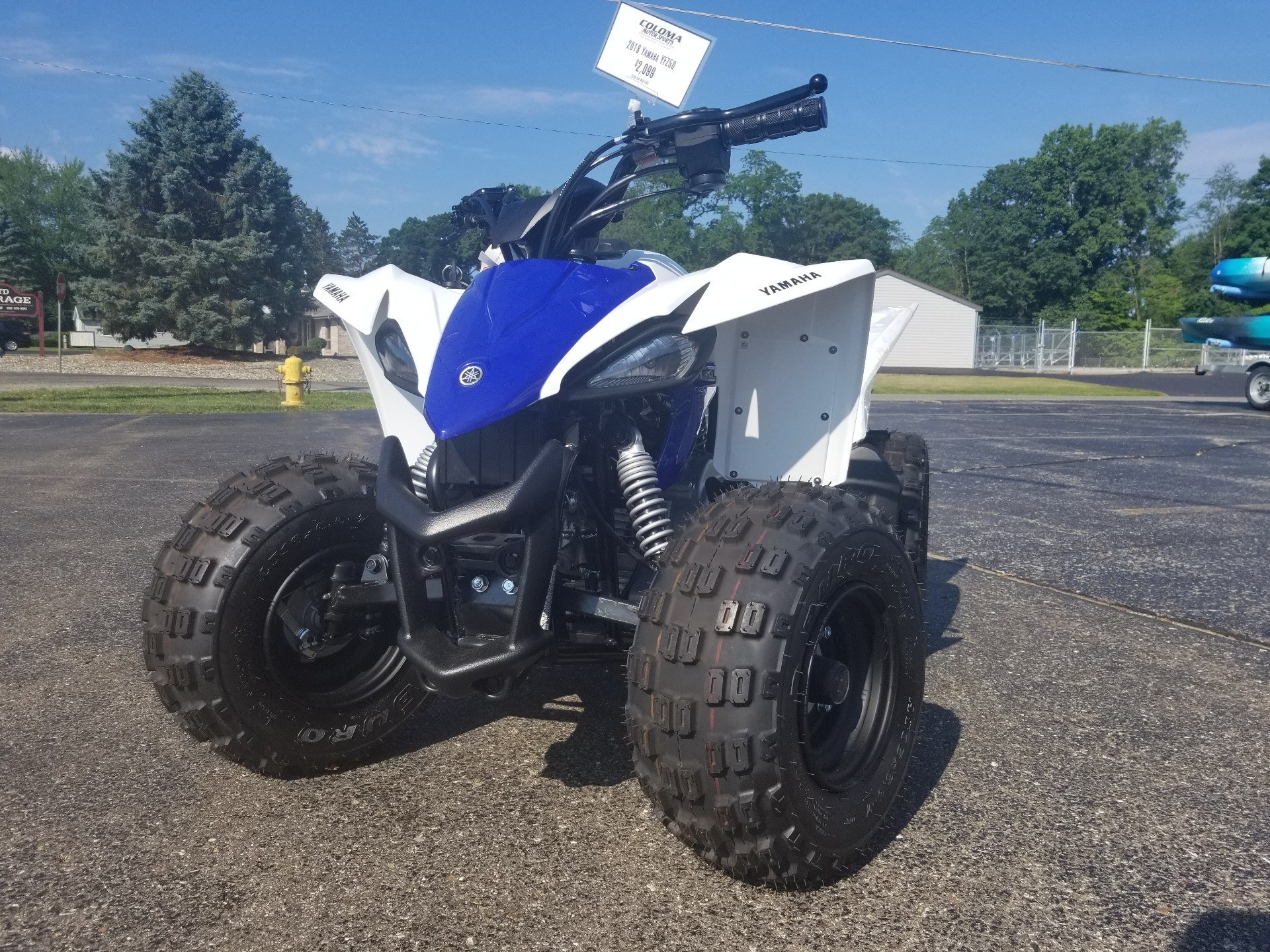 2018 Yamaha YFZ50 in Coloma, Michigan - Photo 7