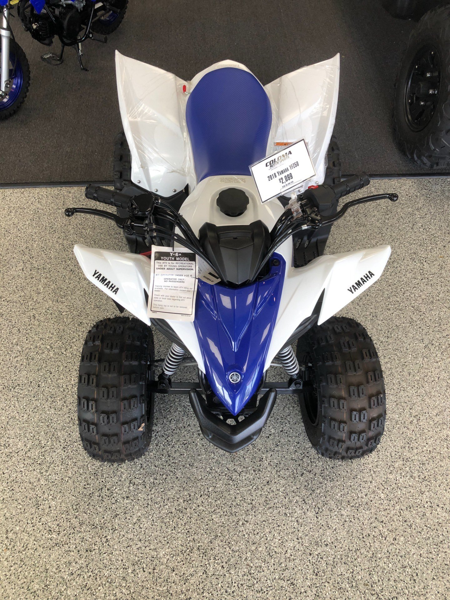 2018 Yamaha YFZ50 in Coloma, Michigan - Photo 1