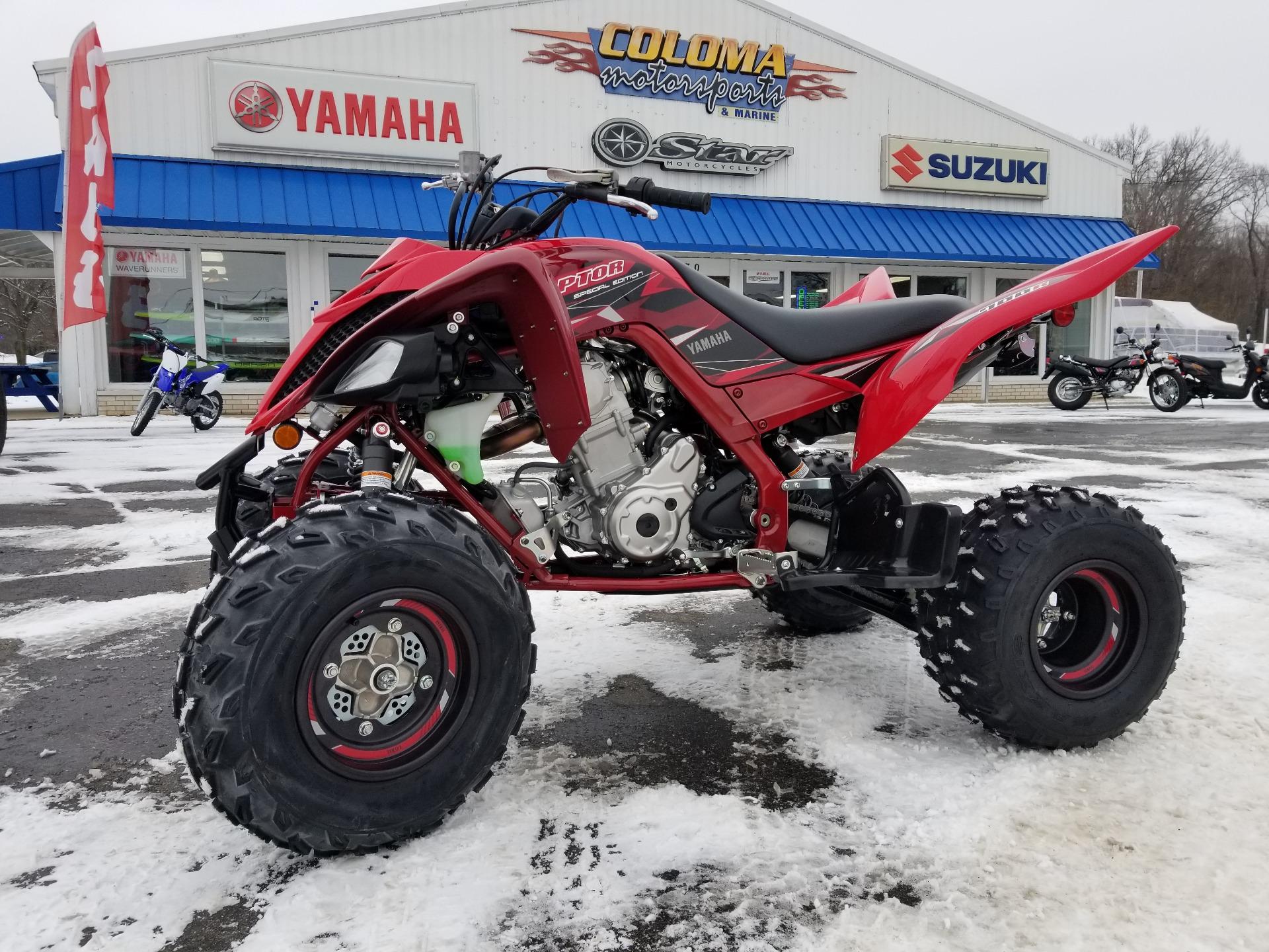 bc9d3036aaaa New 2019 Yamaha Raptor 700R SE ATVs in Coloma