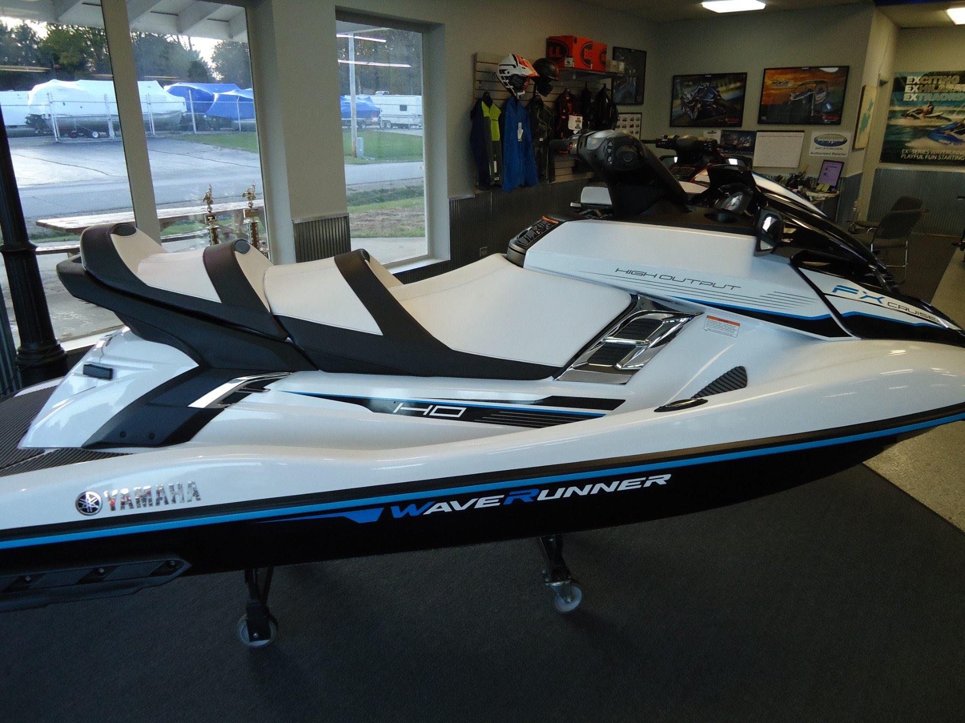 2018 yamaha fx cruiser ho for sale coloma mi 77634 for Yamaha fx cruiser