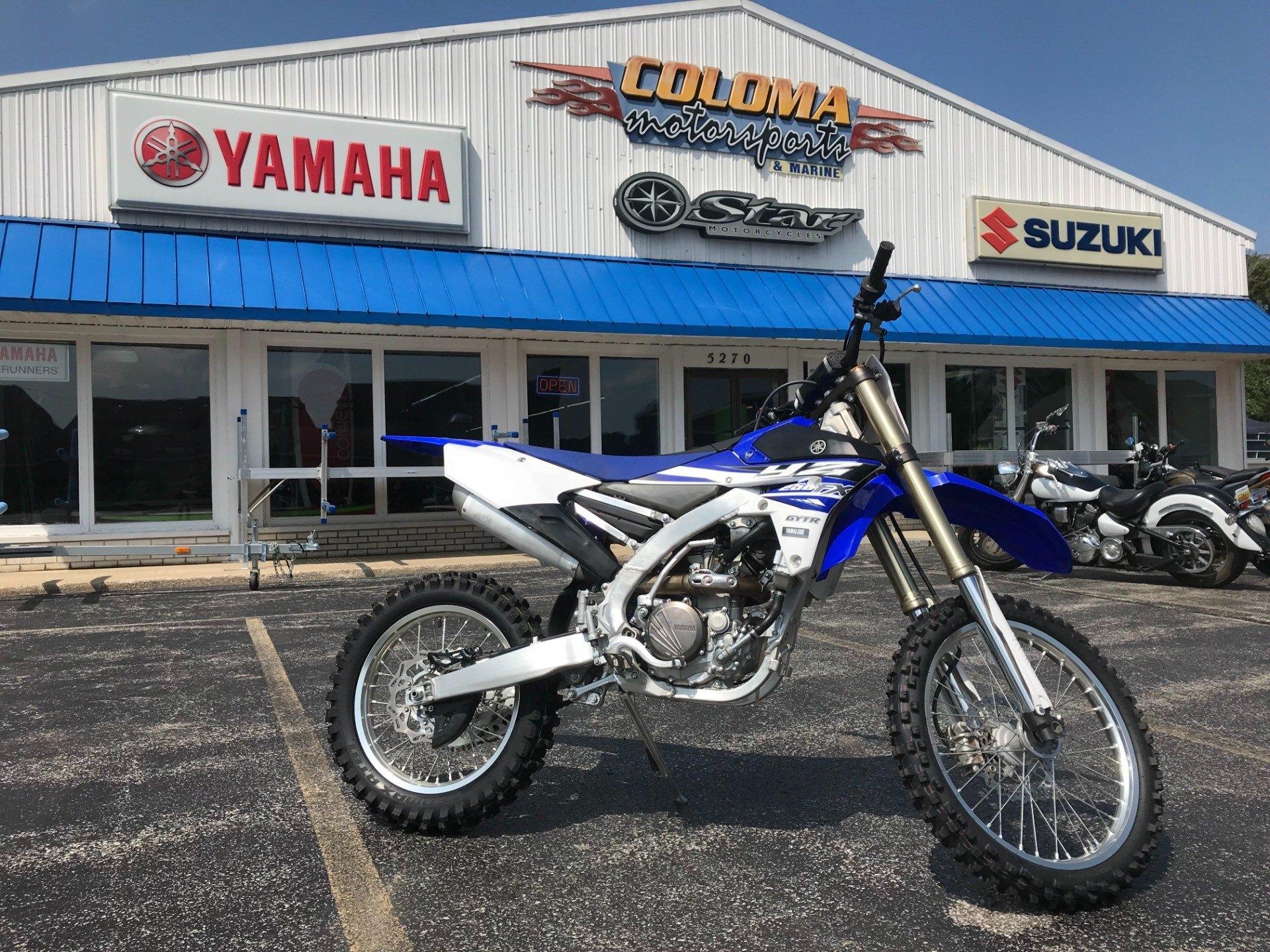 2015 Yamaha YZ250FX for sale 10249