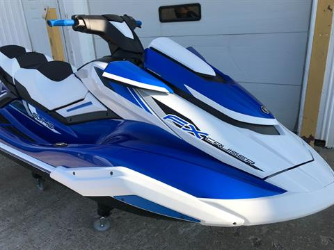 2019 Yamaha FX Cruiser SVHO in Coloma, Michigan