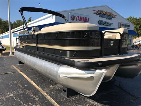 2018 Sweetwater SW2286DL TriToon in Coloma, Michigan