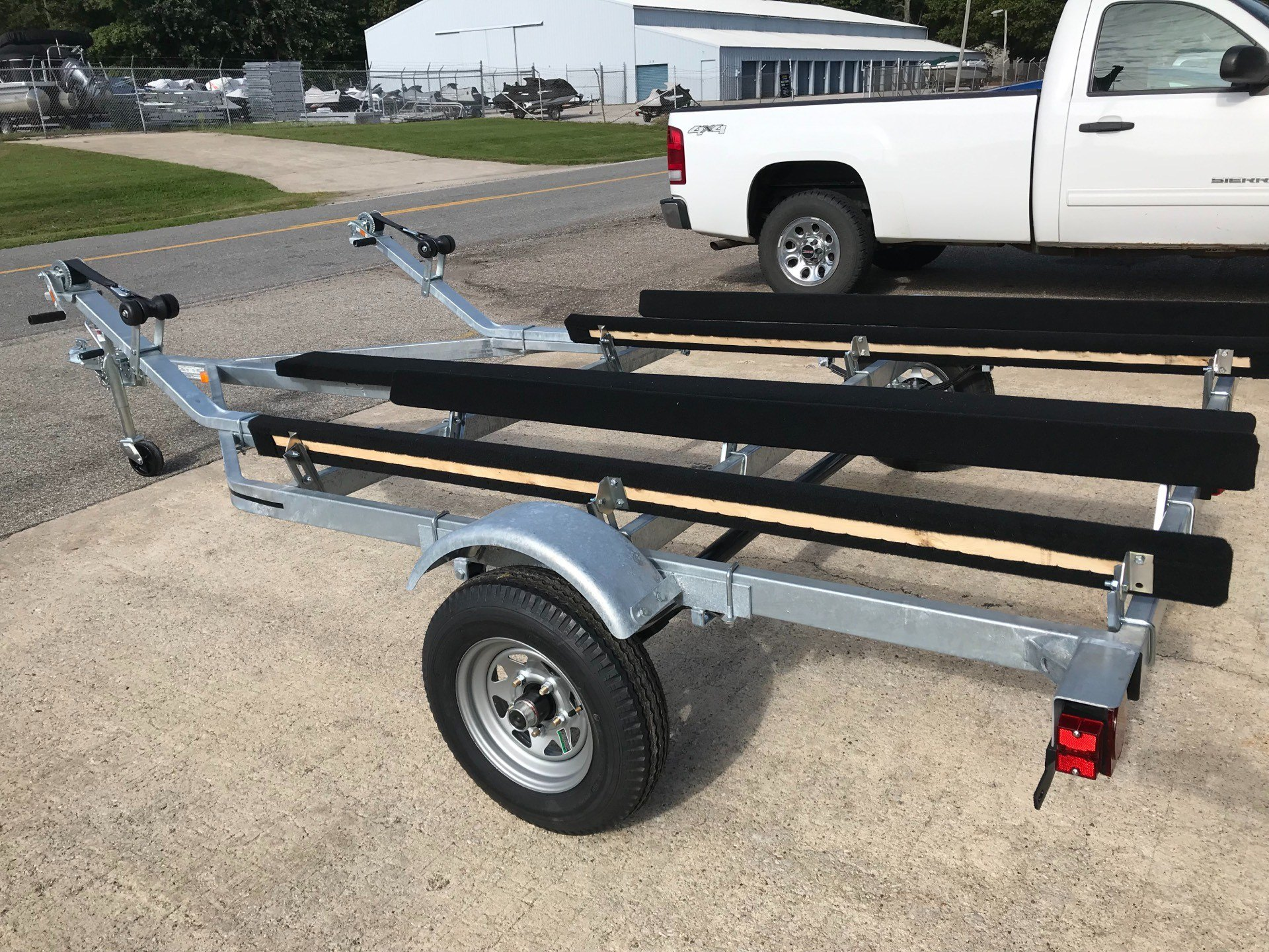2020 Genesis Trailers 2PWC2100 in Coloma, Michigan - Photo 4