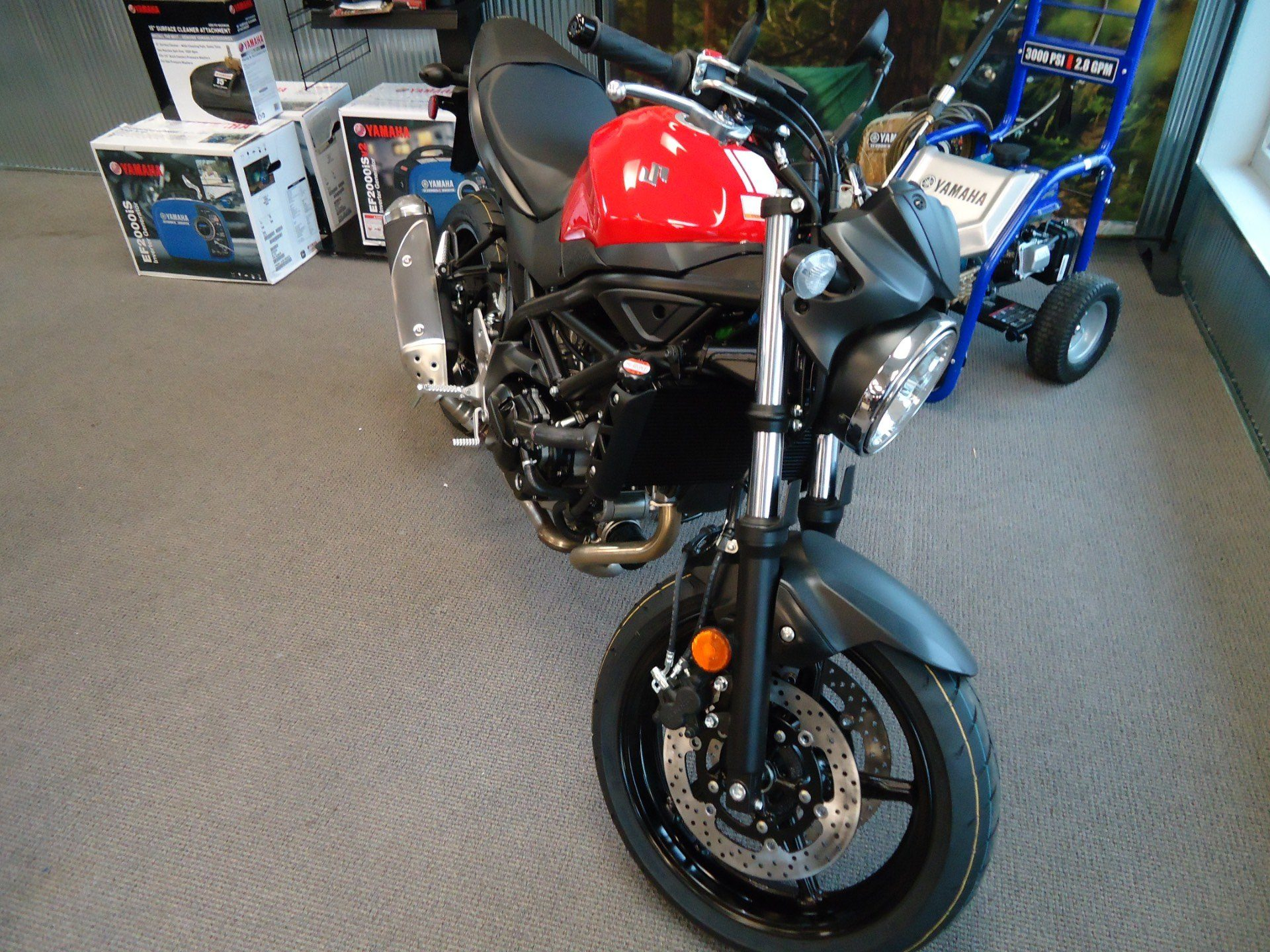 2017 Suzuki SV650 in Coloma, Michigan