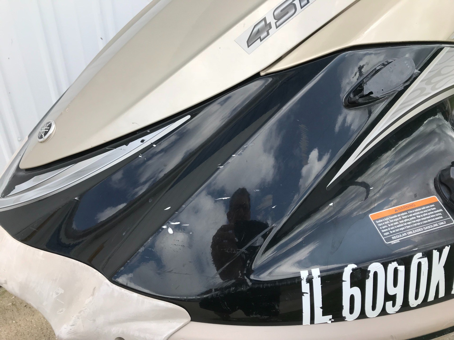 2008 Yamaha VX1100A-GB 12