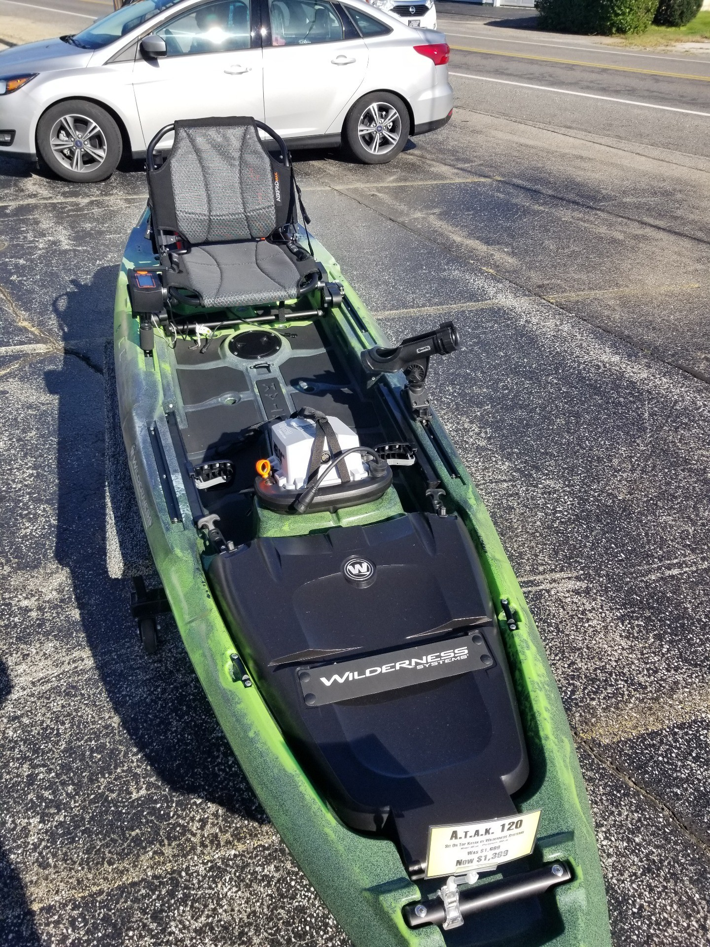 2018 Wilderness System ATAK 120 in Coloma, Michigan