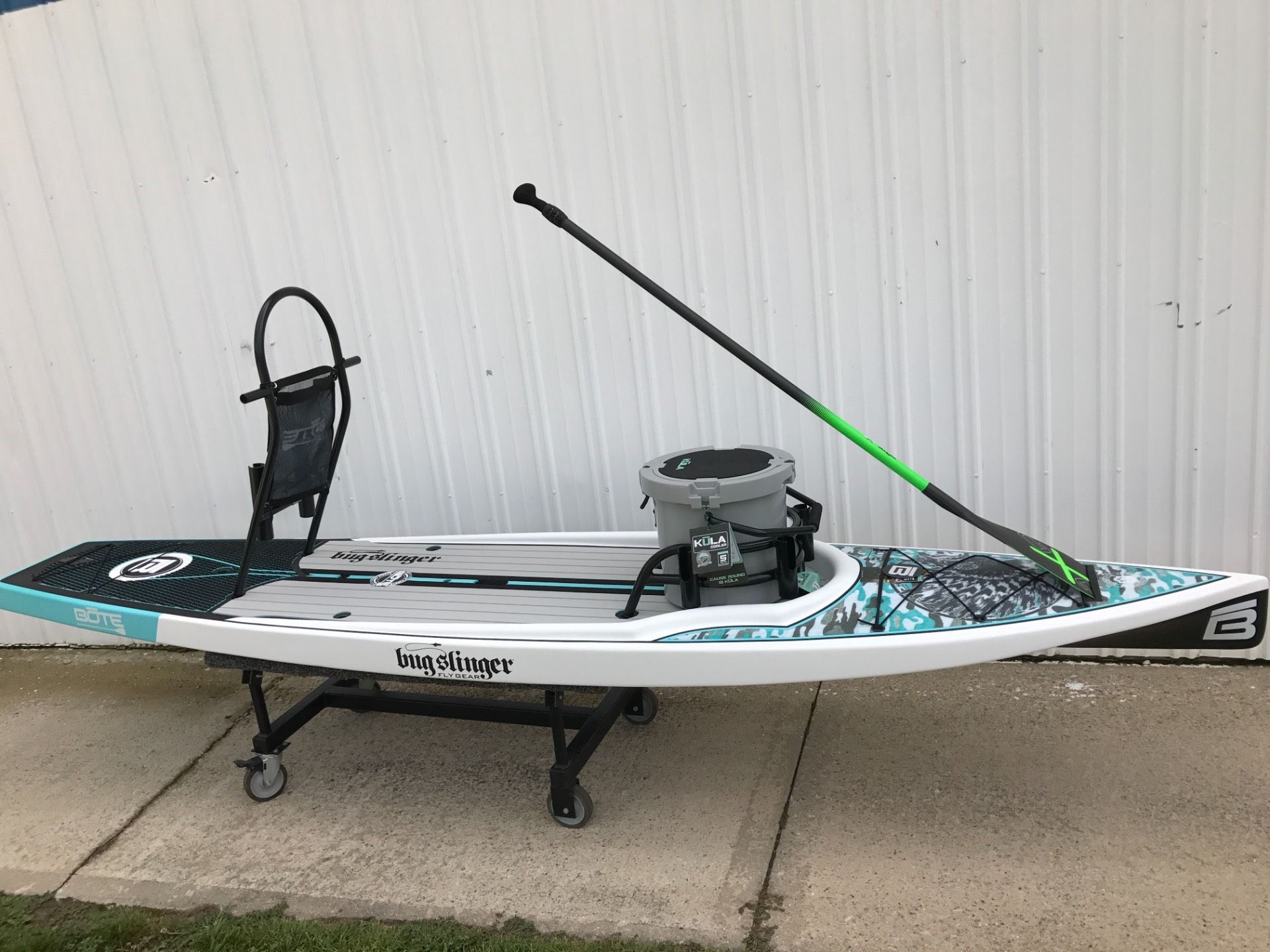 New 2017 bote 12 39 rackham bugslinger watercraft in coloma for Bote paddle board with motor