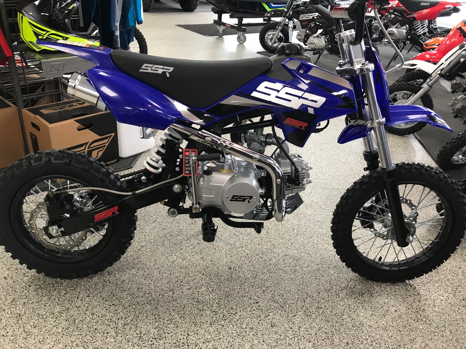 New 2020 ssr motorsports sr 125 manual motorcycles in coloma, mi.
