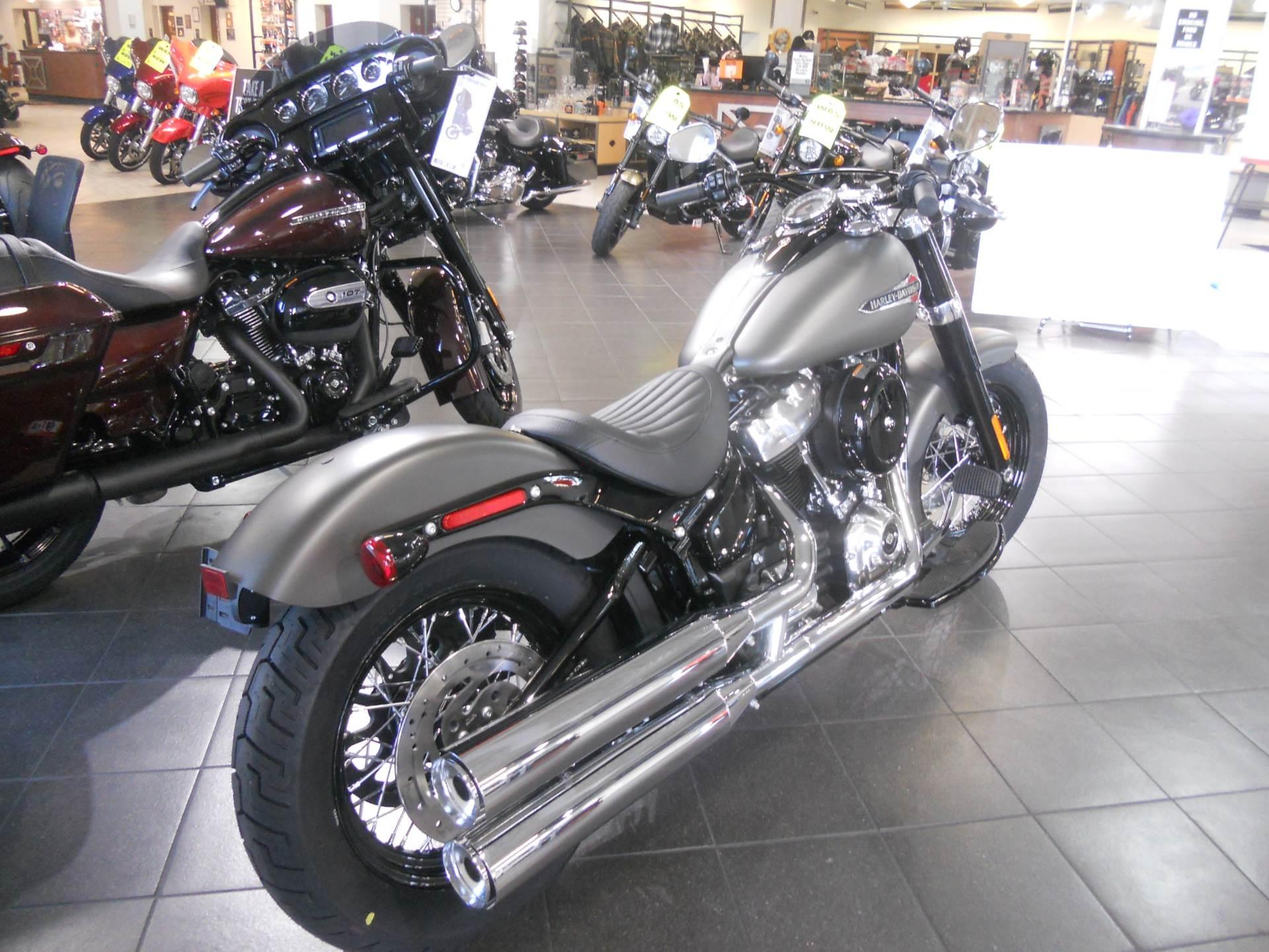 new 2018 harley davidson softail slim 107 motorcycles in manassas va stock number 023662. Black Bedroom Furniture Sets. Home Design Ideas