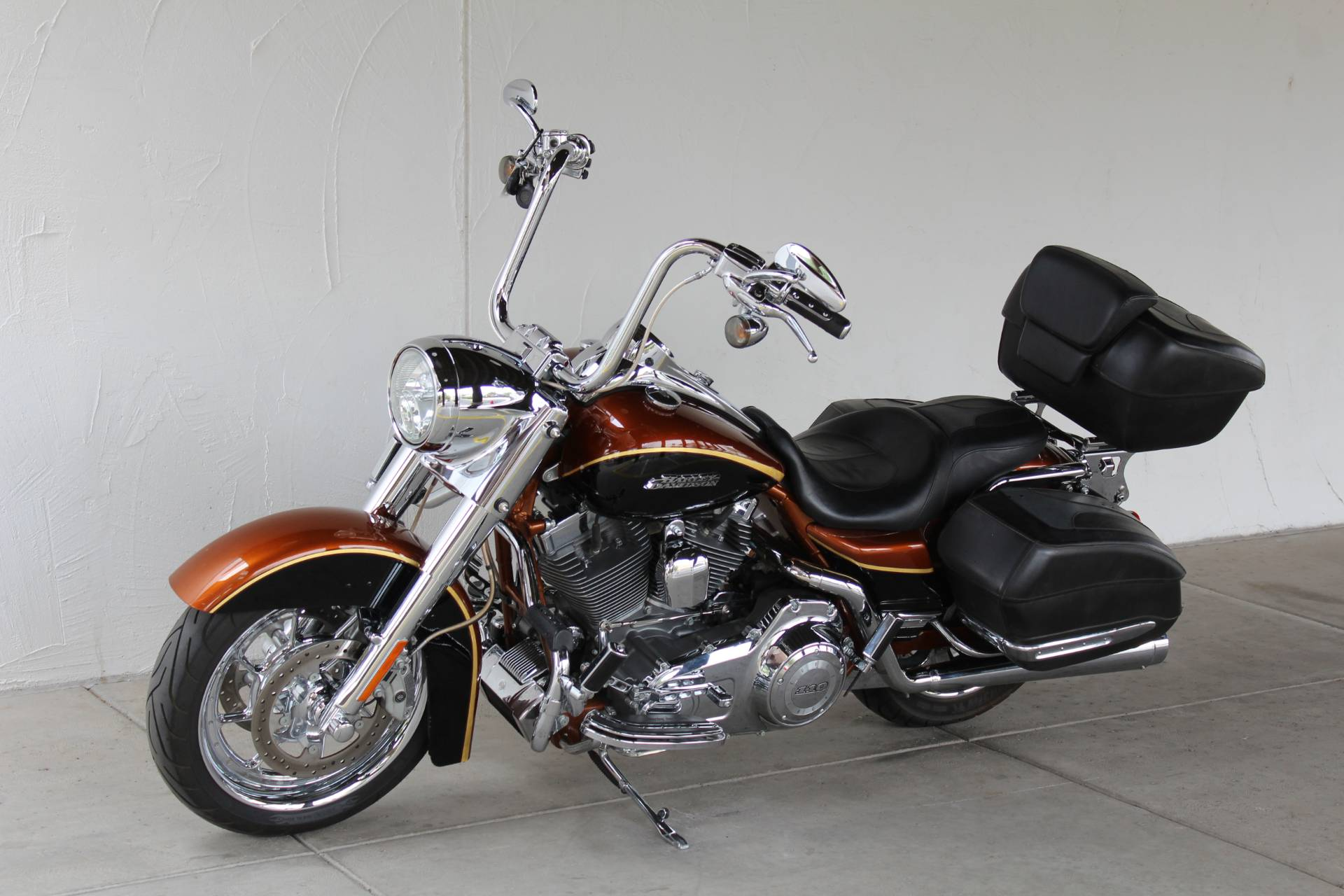 2008 Harley-Davidson CVO™ Screamin' Eagle® Road King® Motorcycles ...