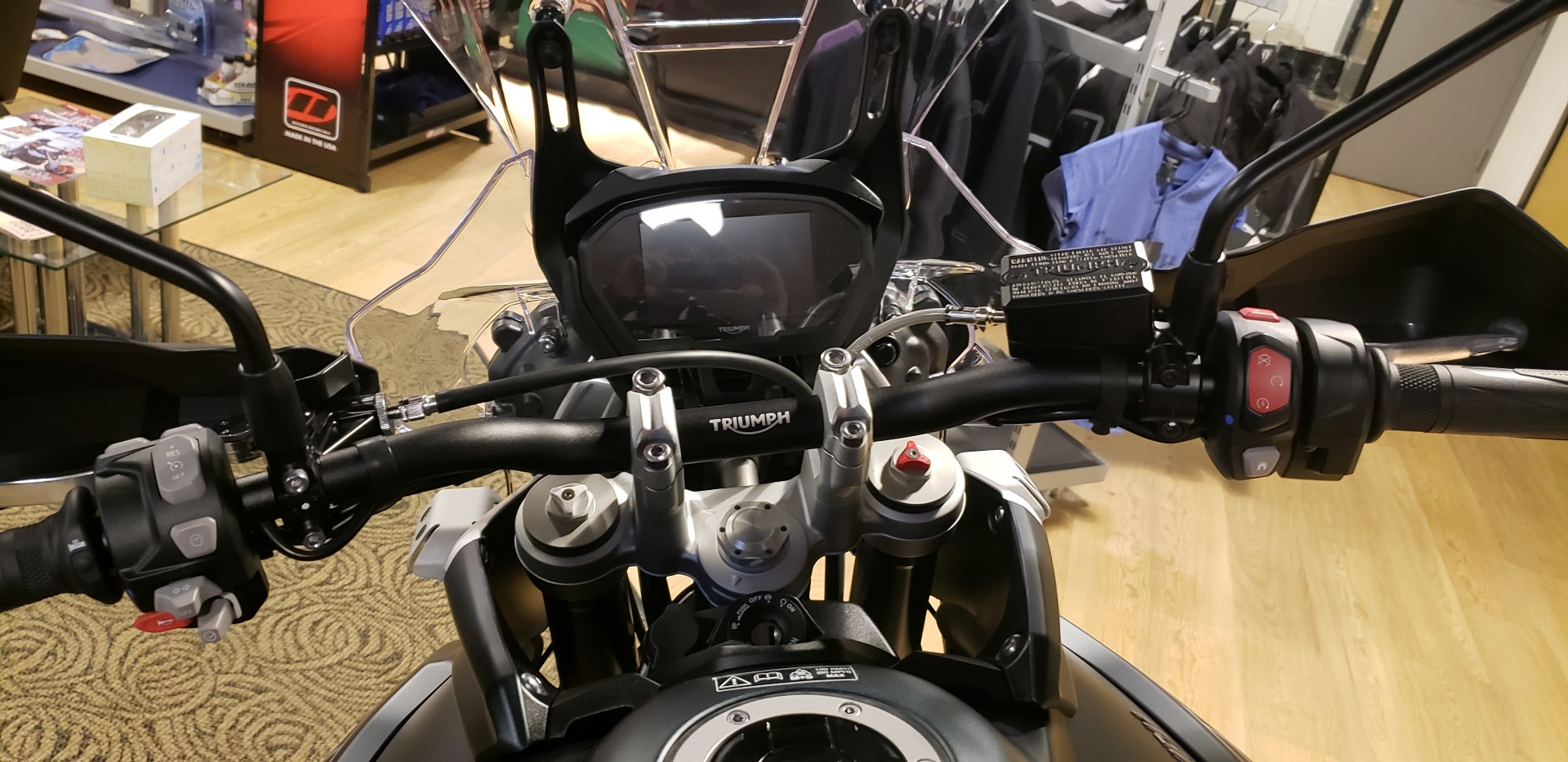 2019 Triumph Tiger 800 XCa in Shelby Township, Michigan - Photo 8
