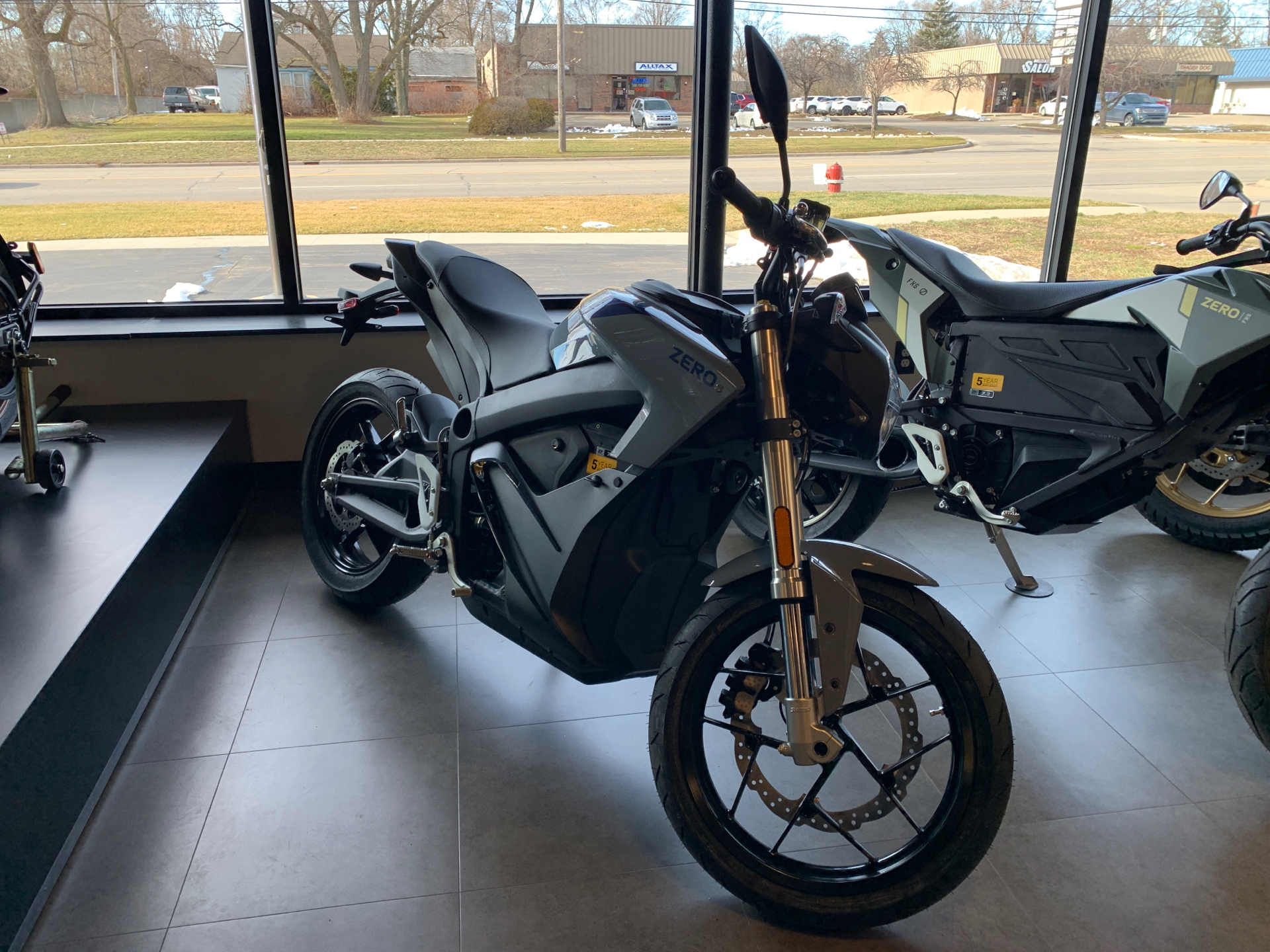 2021 Zero Motorcycles S ZF7.2 in Shelby Township, Michigan - Photo 1