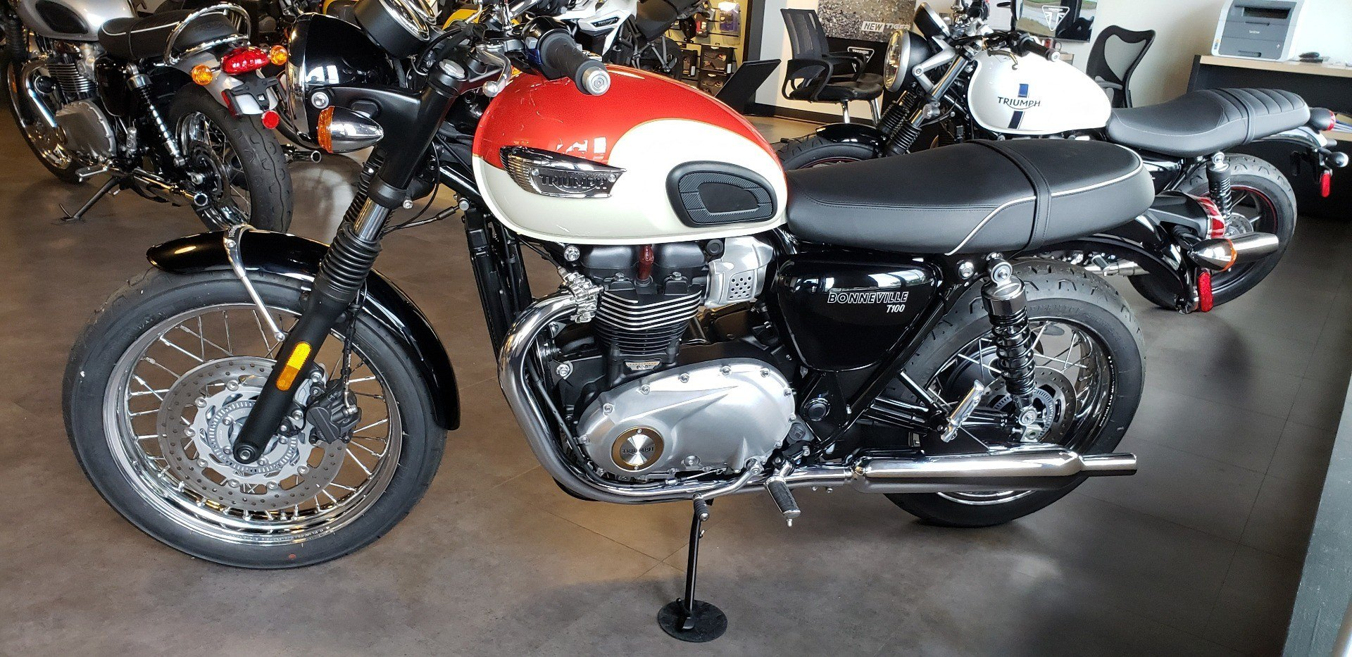 2018 Triumph Bonneville T100 in Shelby Township, Michigan