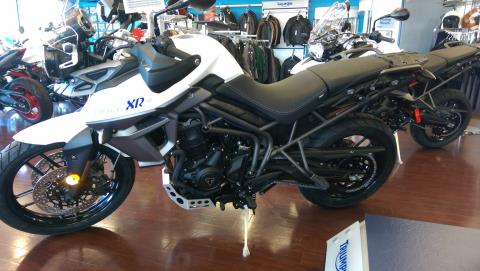 2016 Triumph Tiger 800 XRx Low in Shelby Township, Michigan