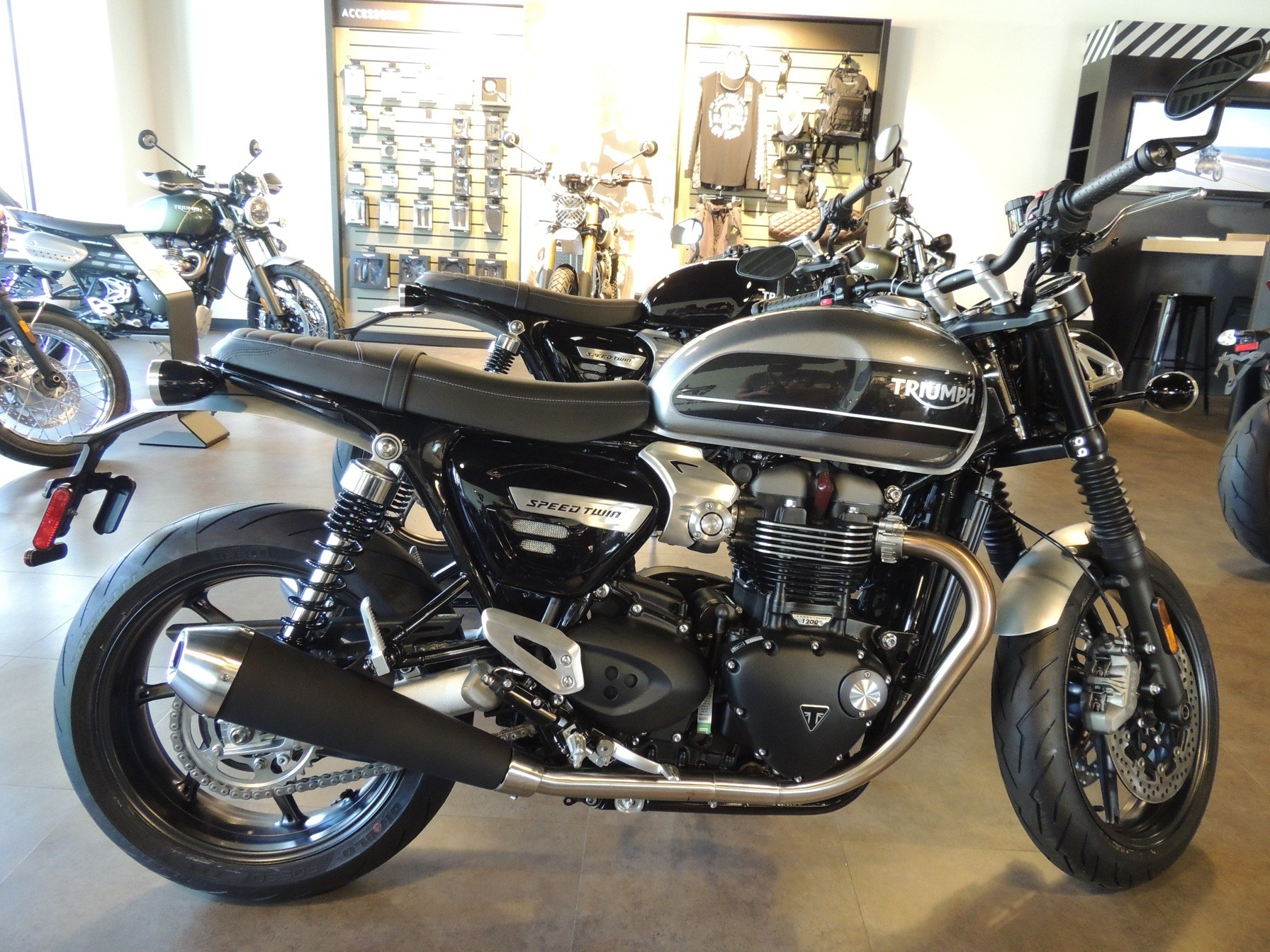 2019 Triumph Bonneville Speed Twin in Shelby Township, Michigan - Photo 3