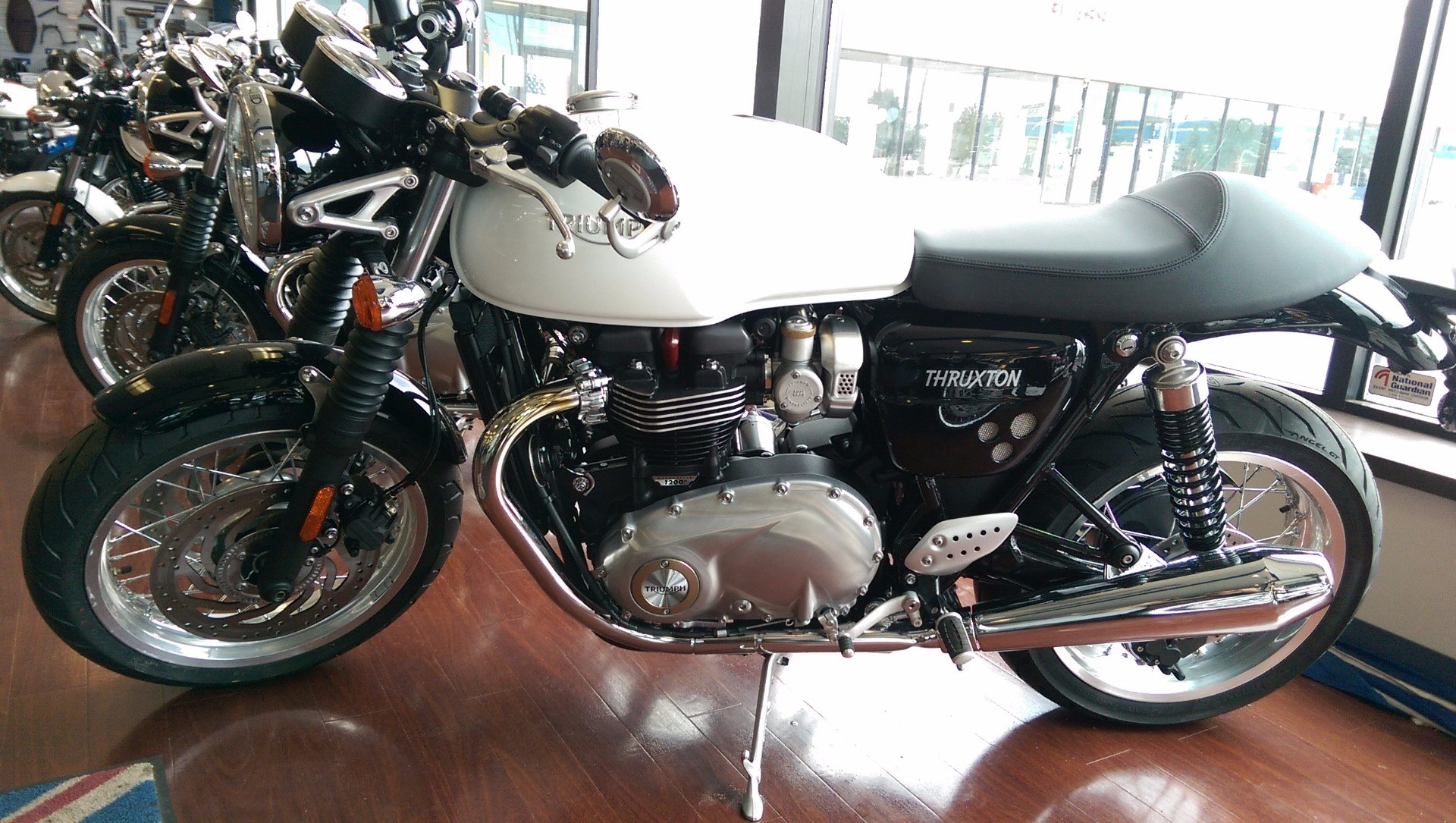 2016 Triumph Thruxton 1200 in Shelby Township, Michigan